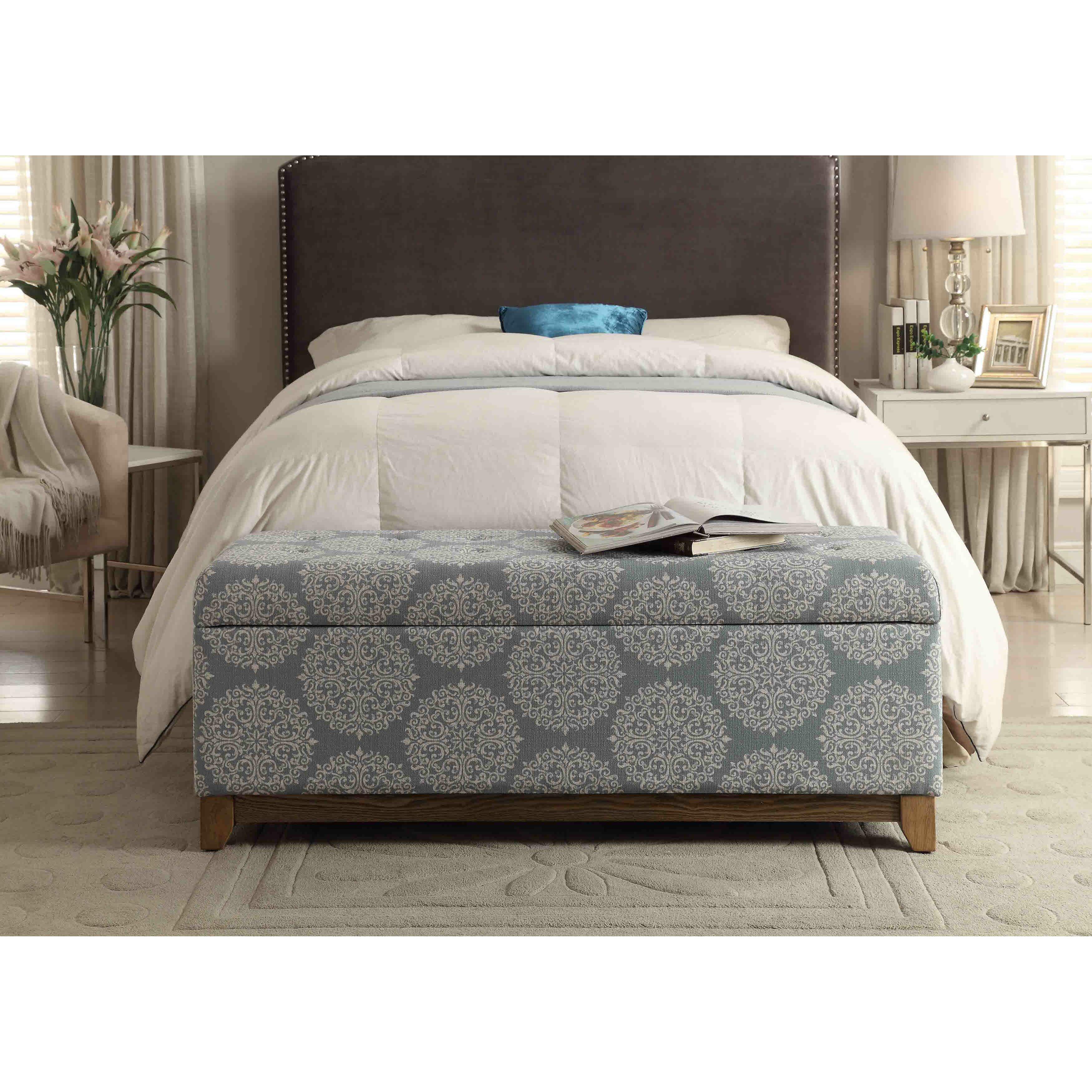 Bedroom Storage Benches: Bungalow Rose Navya Wood Storage Bedroom Bench & Reviews
