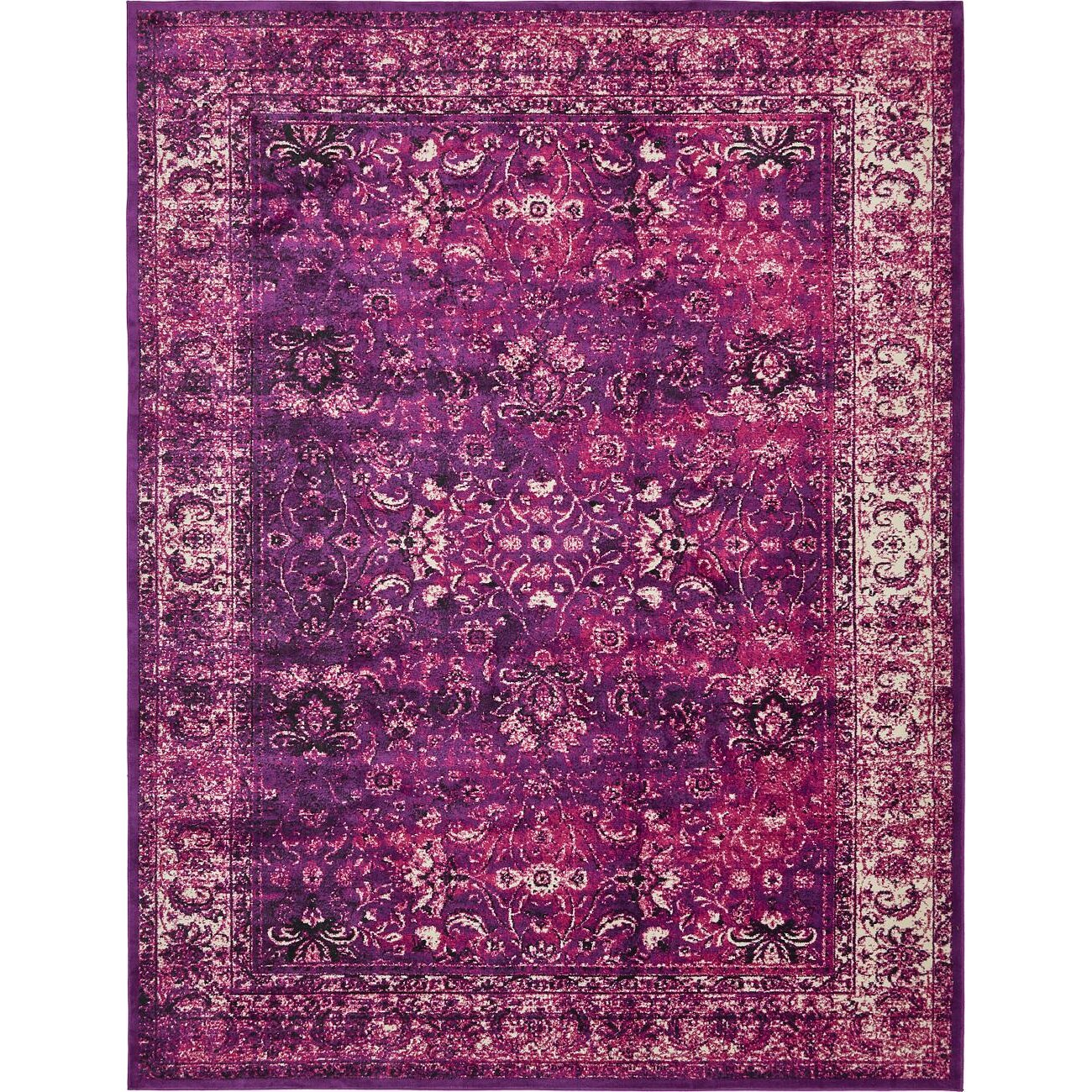 Bungalow Rose Yareli Lilac Violet Area Rug Amp Reviews Wayfair