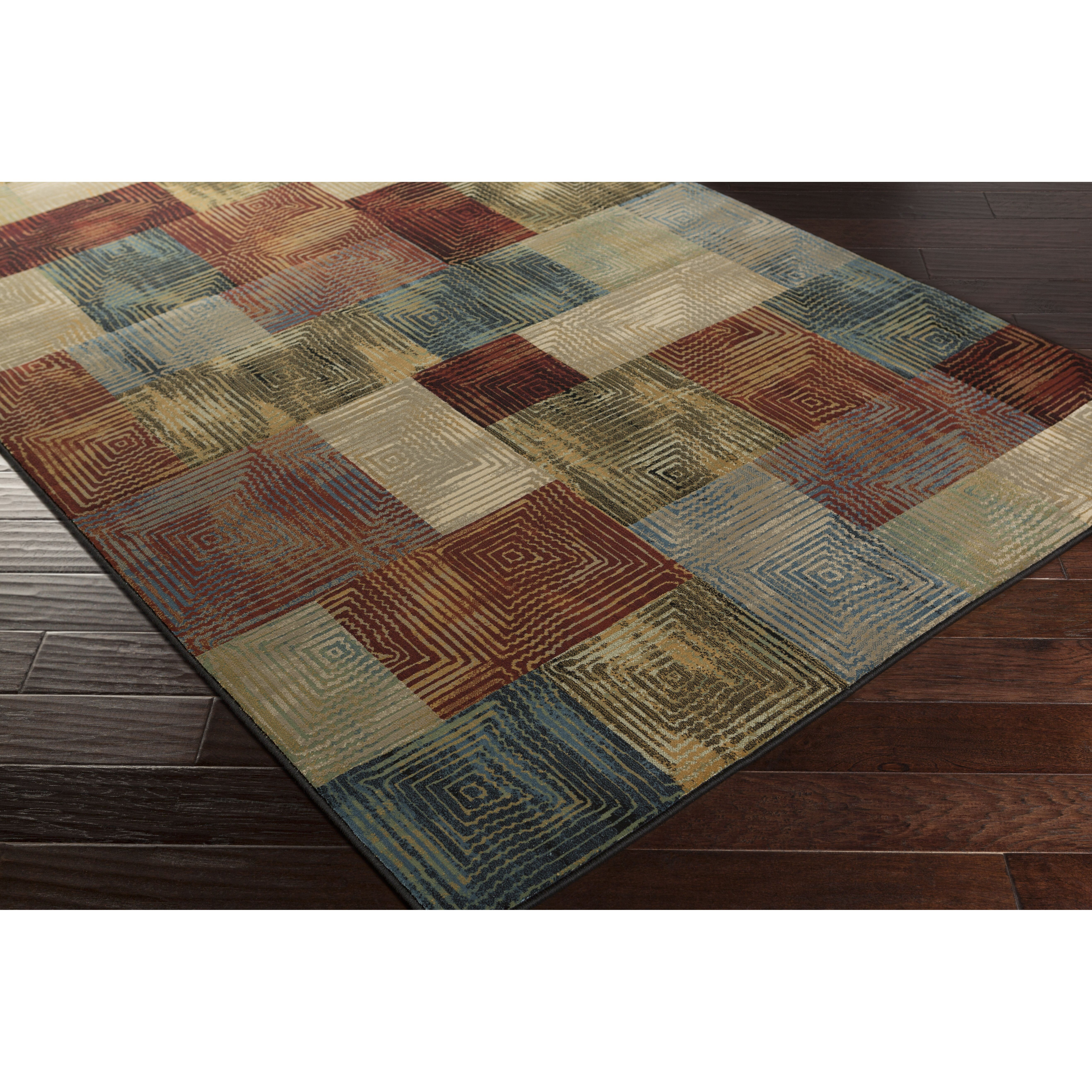 Bungalow Rose Argentine Teal Area Rug & Reviews