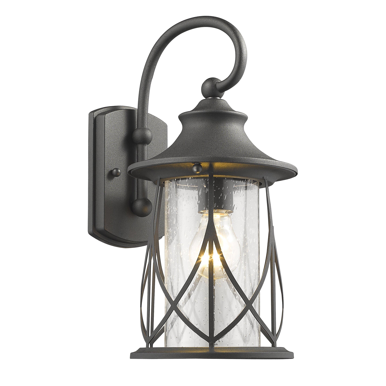 Bungalow Rose Pembroke 1 Light Outdoor Wall Lantern