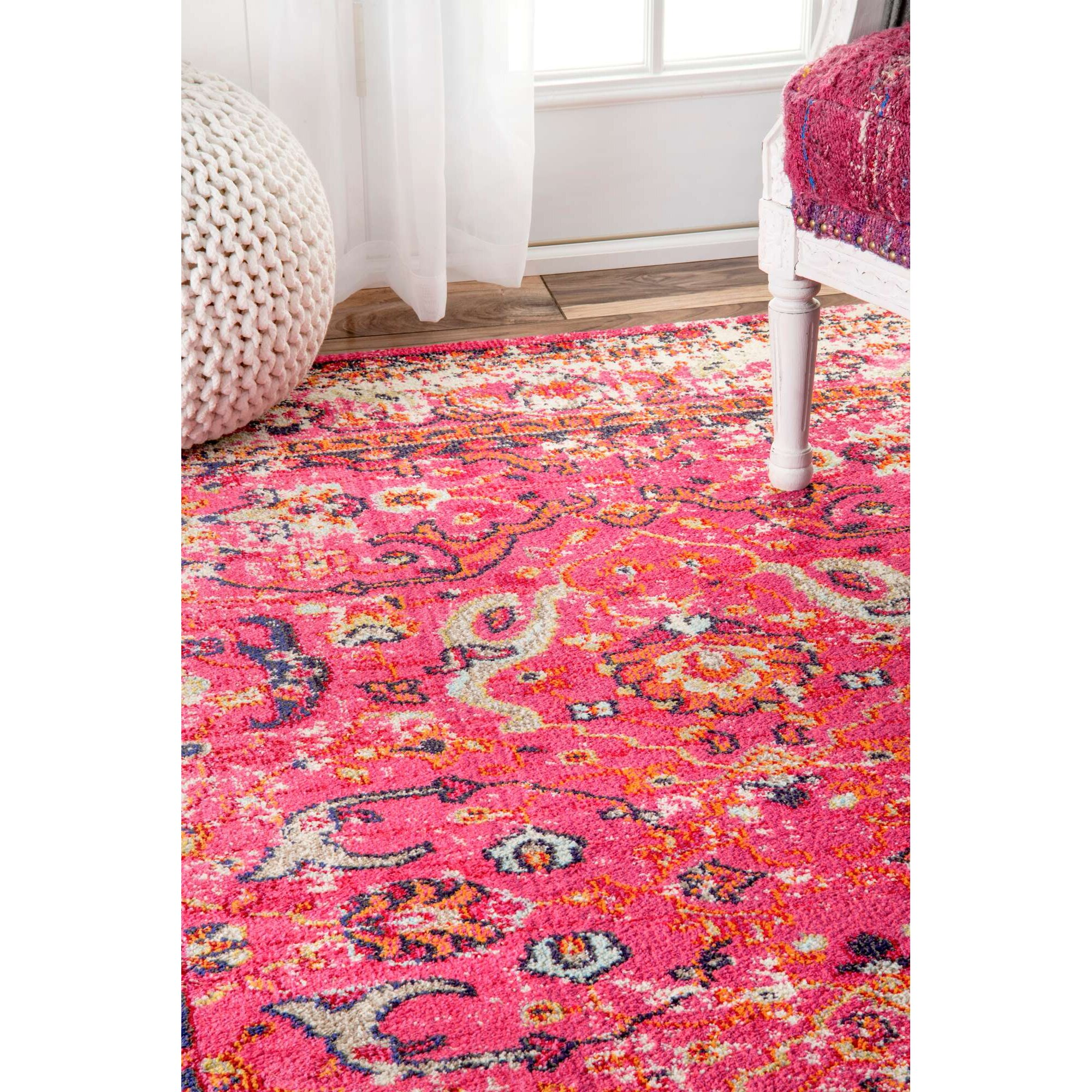 Bungalow Rose Hyer Pink Area Rug & Reviews  Wayfair. Nyc Room For Rent. Teens Room. European Decor. 50th Anniversary Party Decorations. Rudolph Christmas Decorations. Boy Birthday Decorations. Elle Decor Subscription. Ceiling Lights For Living Room