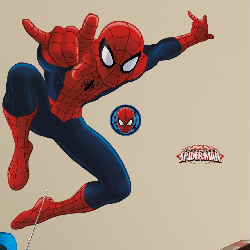 Room Mates Spider-Man Ultimate Giant Wall Decal & Reviews ...