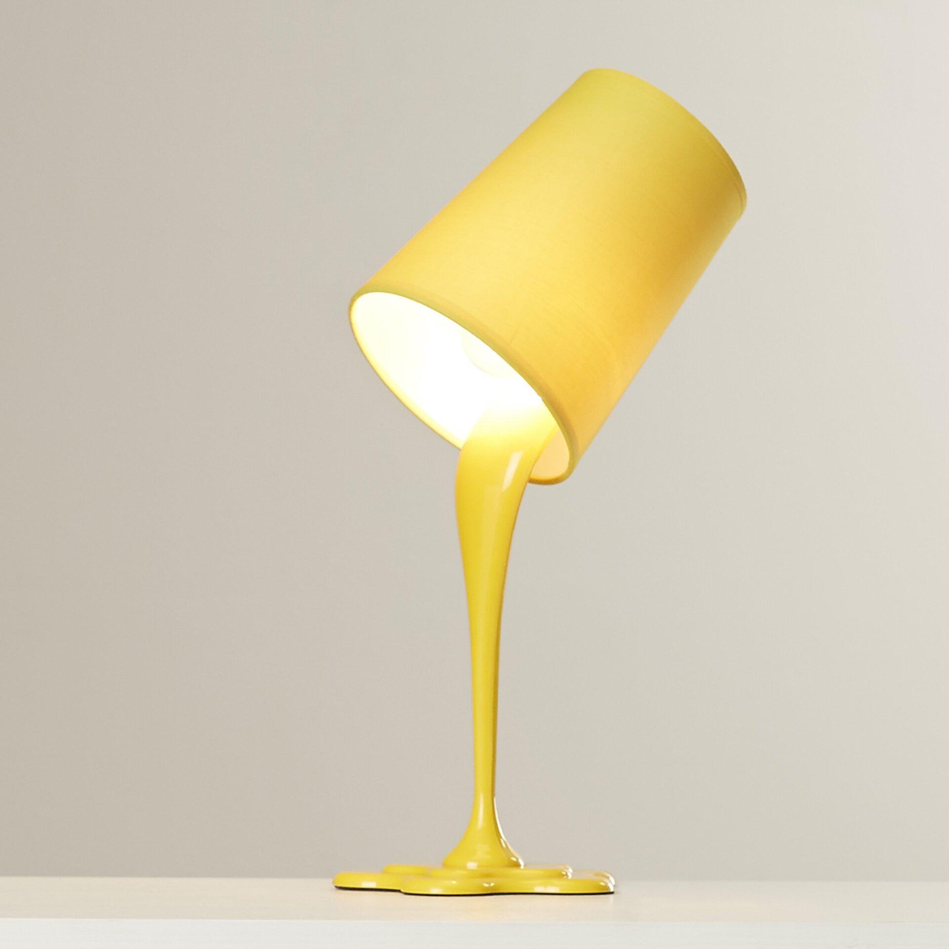 Viv rae powers 155quot h table lamp reviews wayfair for Gazzetta 5 light table lamp