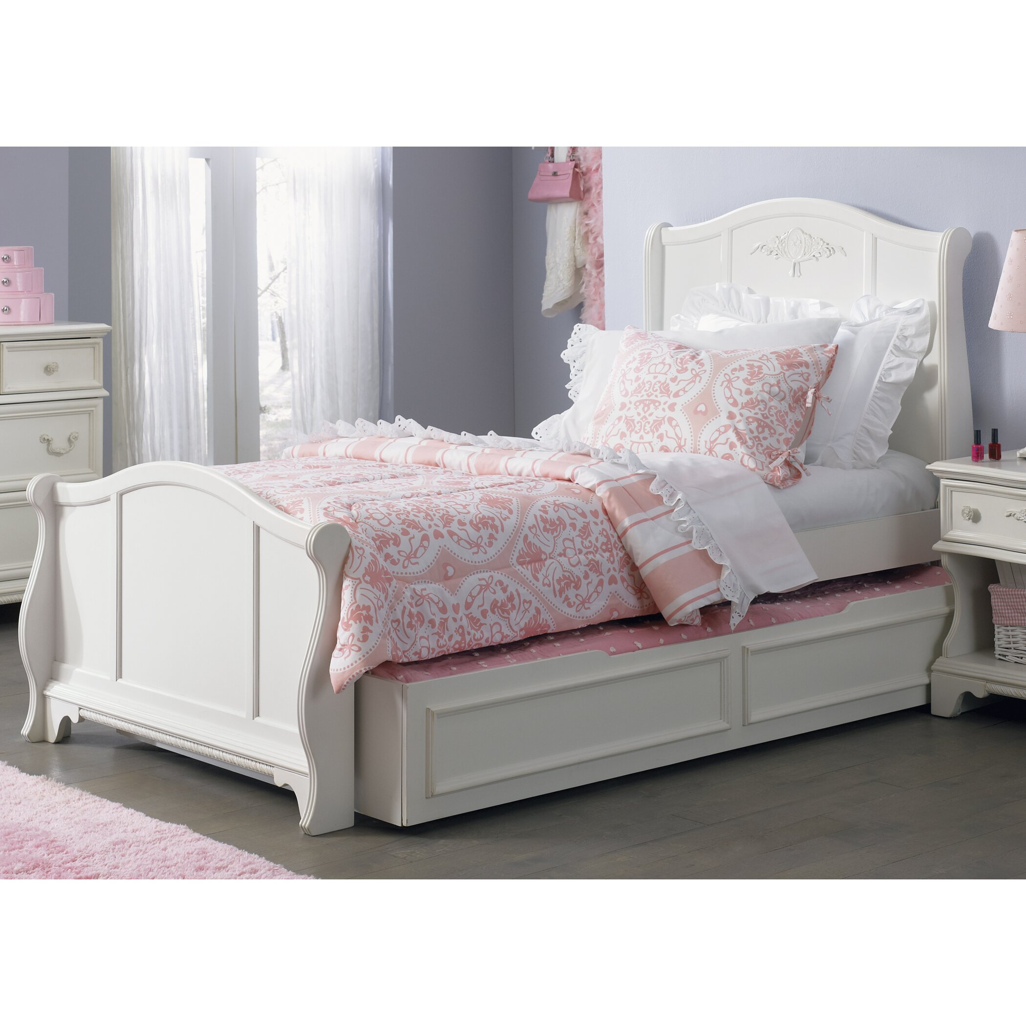 Viv Rae Choate Sleigh Customizable Bedroom Set Reviews Wayfair