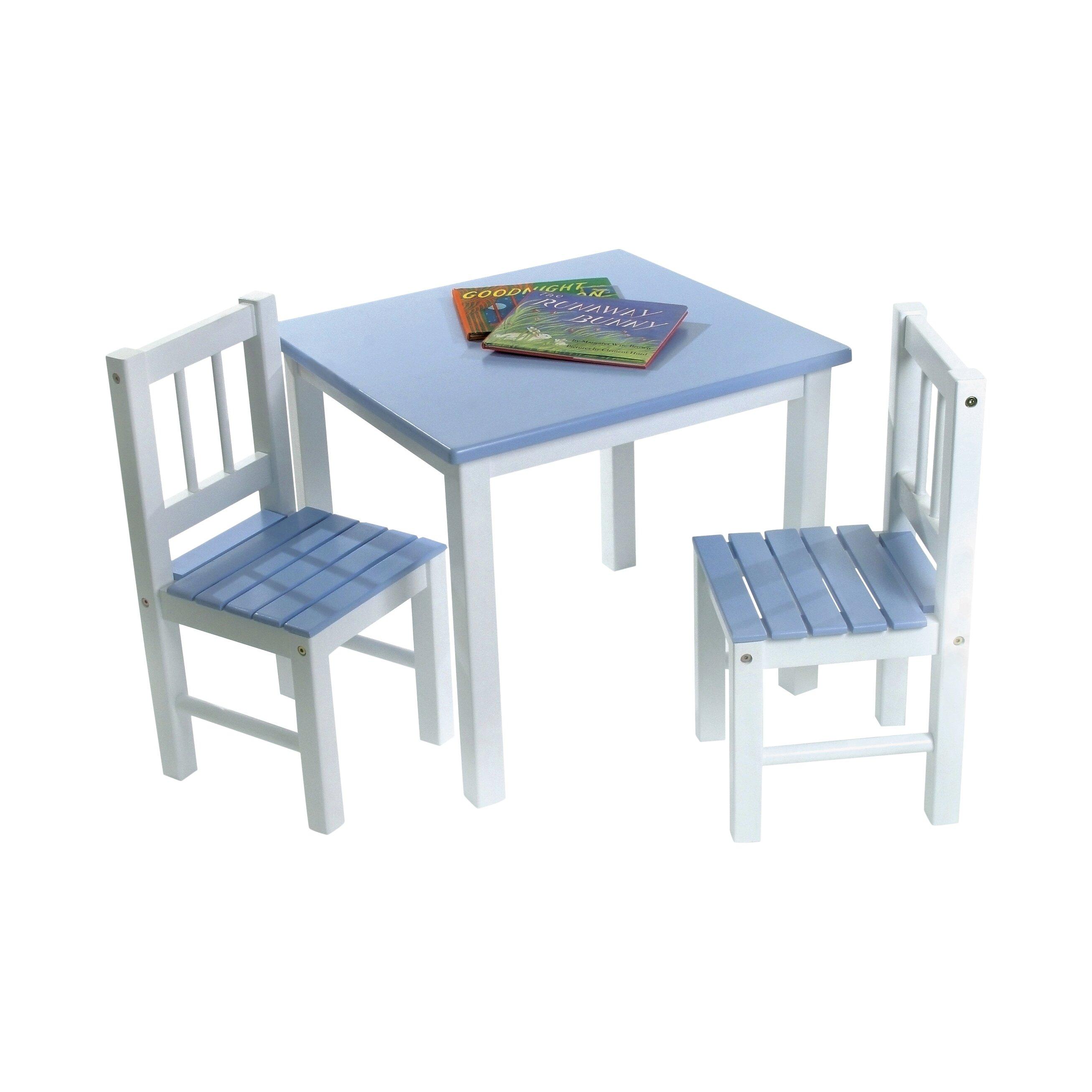 Viv Rae Alexa Kids 39 3 Piece Table And Chair Set