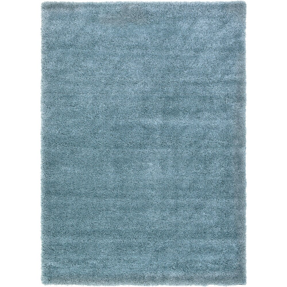 viv rae evelyn light blue area rug reviews wayfair. Black Bedroom Furniture Sets. Home Design Ideas