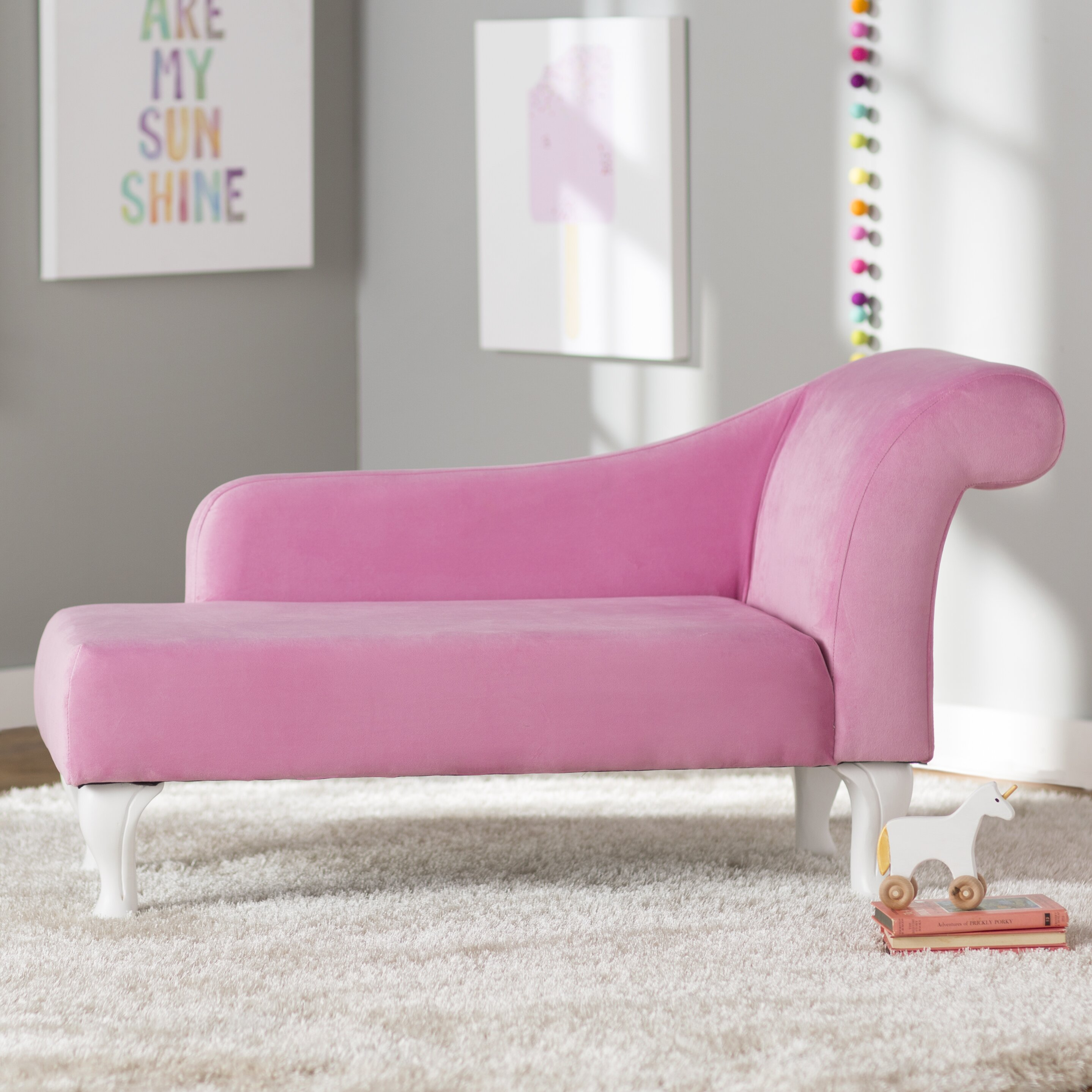 Viv Rae Leslie Kids Chaise Lounge & Reviews