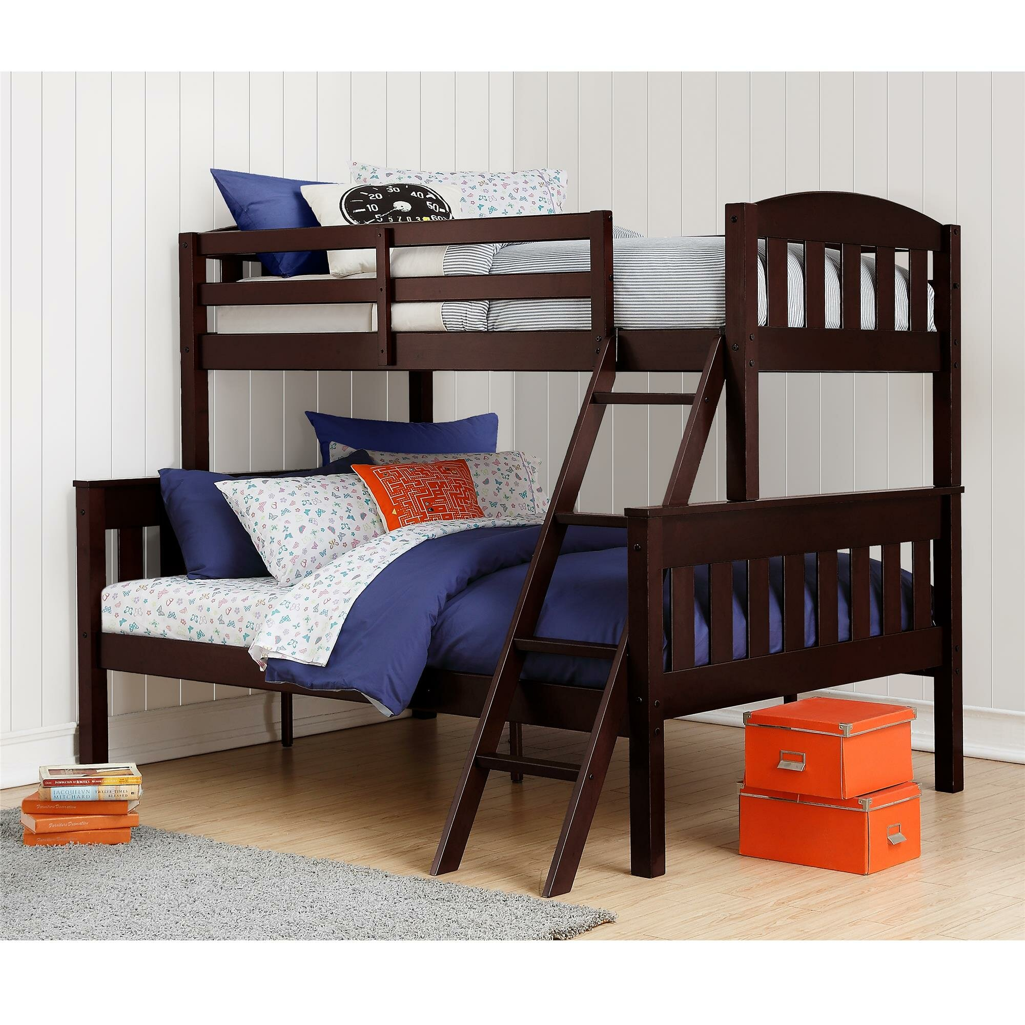 Viv Rae Kira Twin over Full Bunk Bed & Reviews
