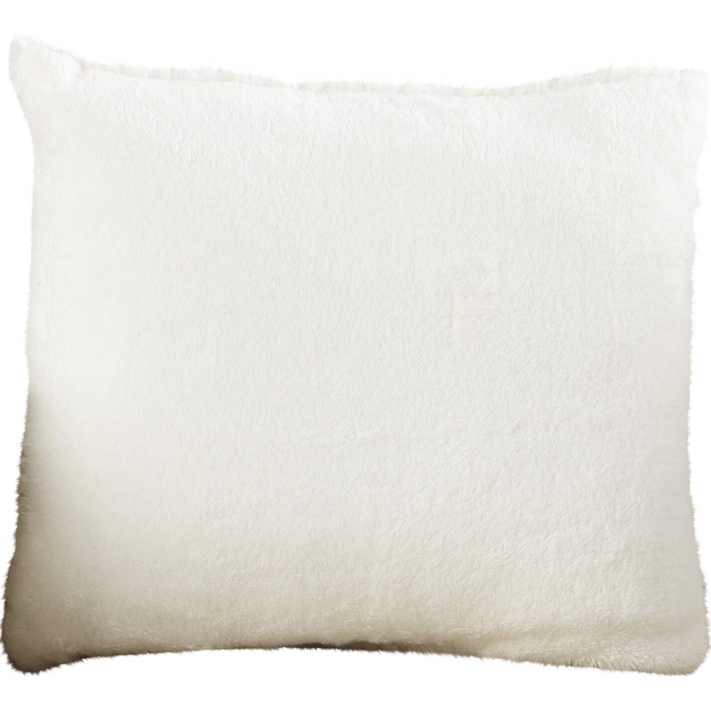 Viv Rae Harlowe Faux Fur Throw Pillow Wayfair Ca