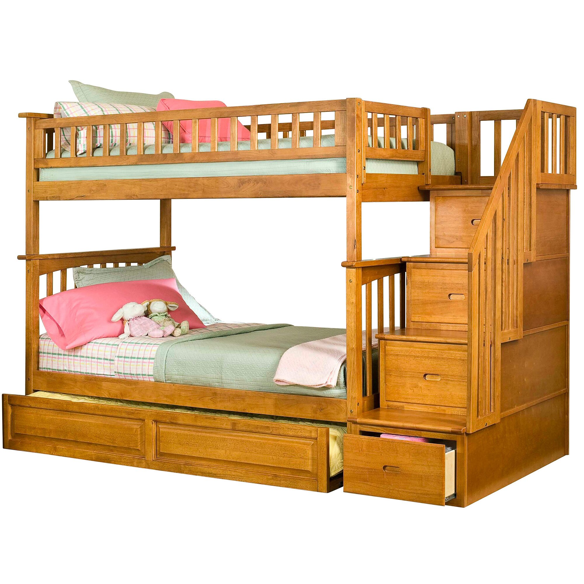 viv rae henry staircase bunk bed with raised panel. Black Bedroom Furniture Sets. Home Design Ideas