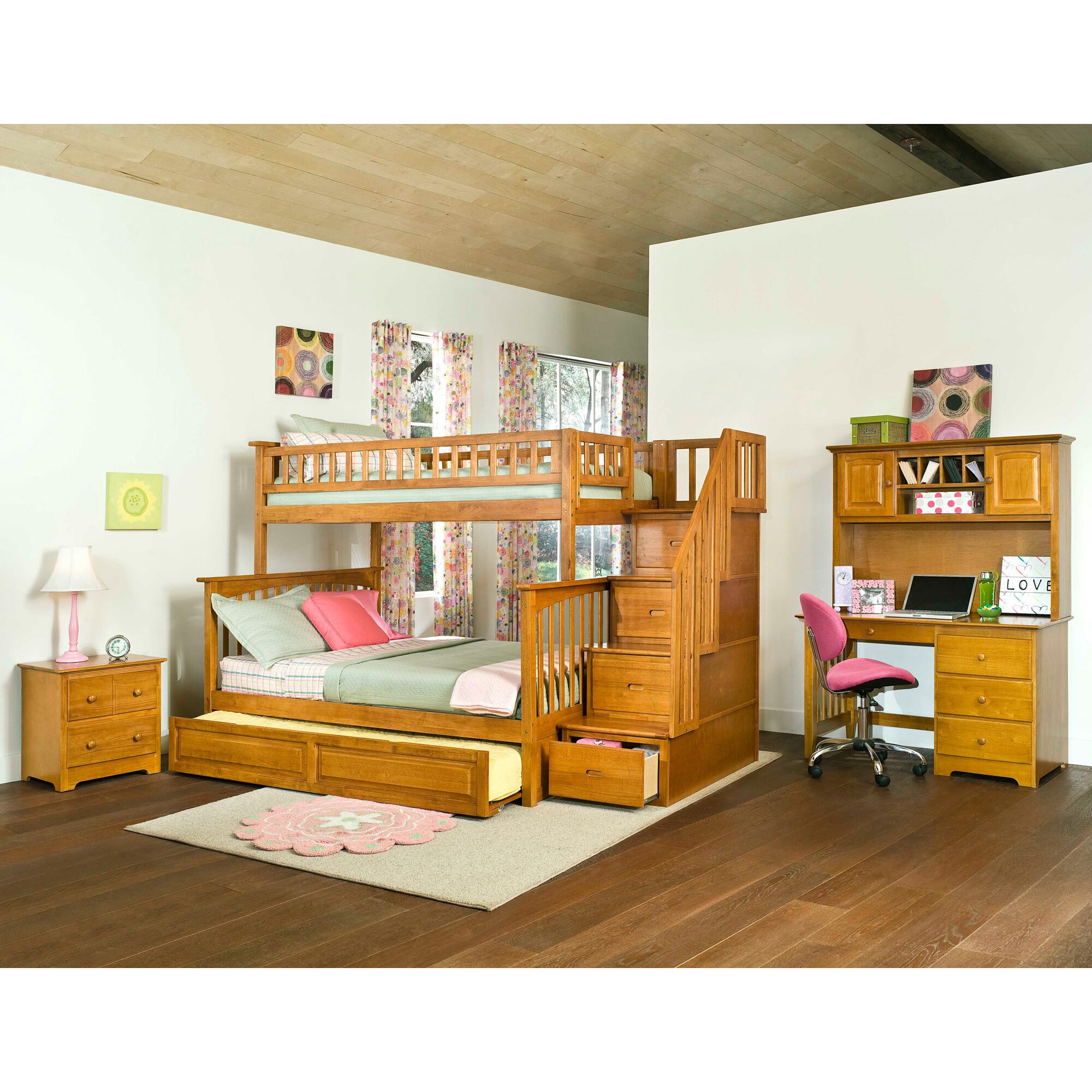 Staircase bunk bed bunk beds with drawer steps 28 bunk for Bunk beds with stairs uk