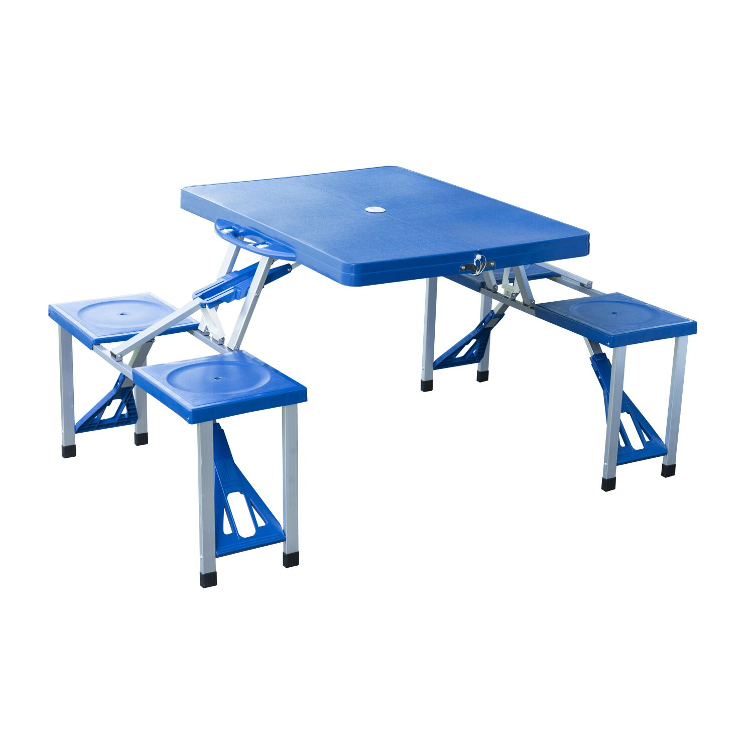 Outsunny picnic table reviews wayfair - Table pliante 4 chaises ...