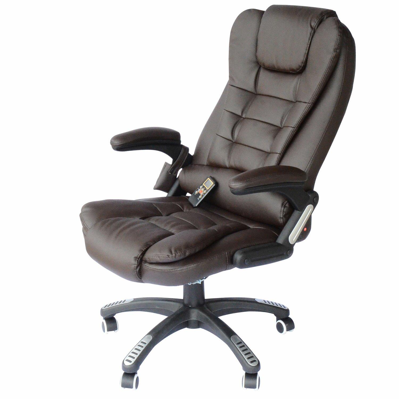 Homcom Homcom Faux Leather Heated Massage Chair Reviews Wayfair