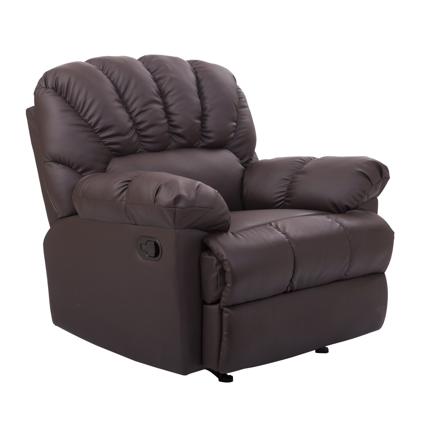 homcom rocking sofa recliner reviews wayfair. Black Bedroom Furniture Sets. Home Design Ideas