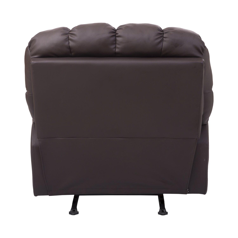 Homcom Rocking Sofa Recliner Reviews Wayfair