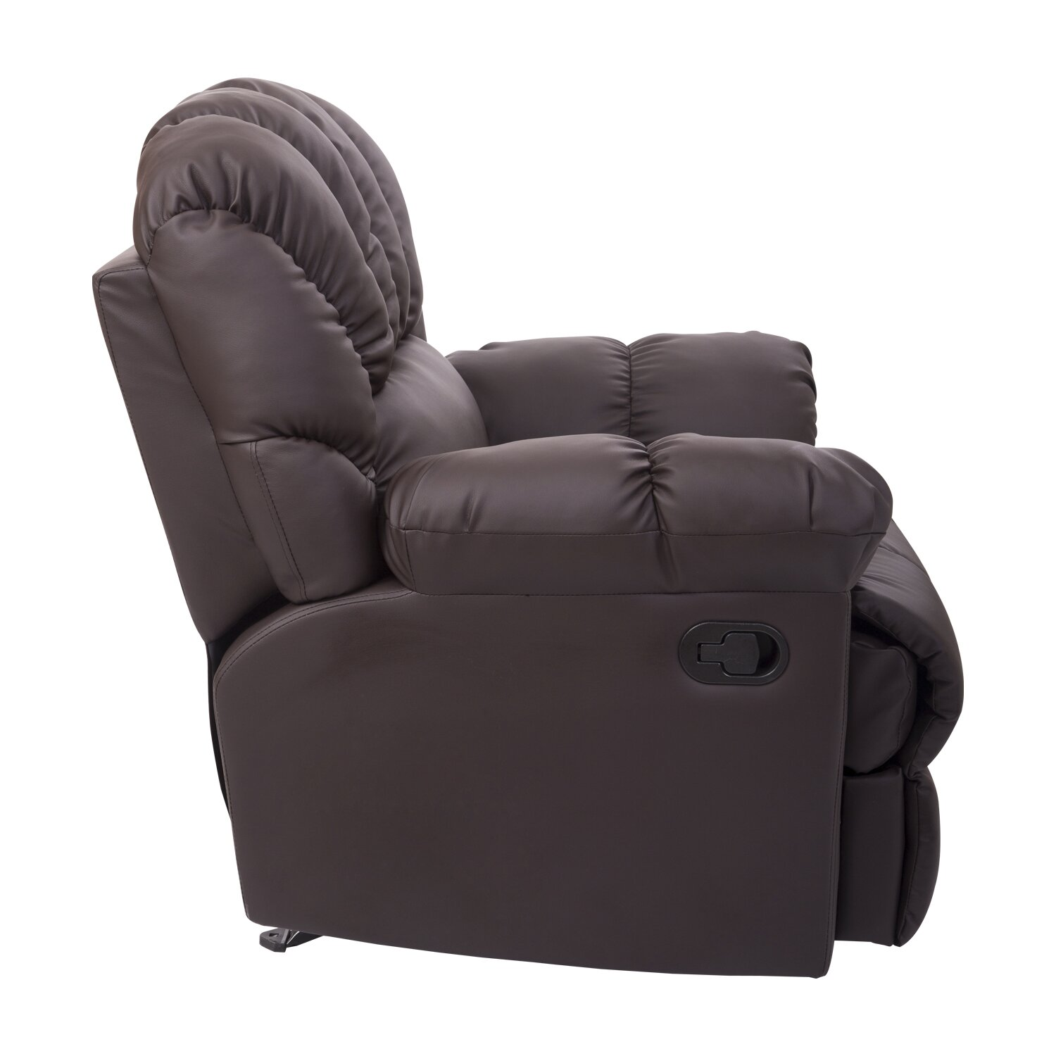 Homcom rocking sofa recliner reviews wayfair Rocking loveseats