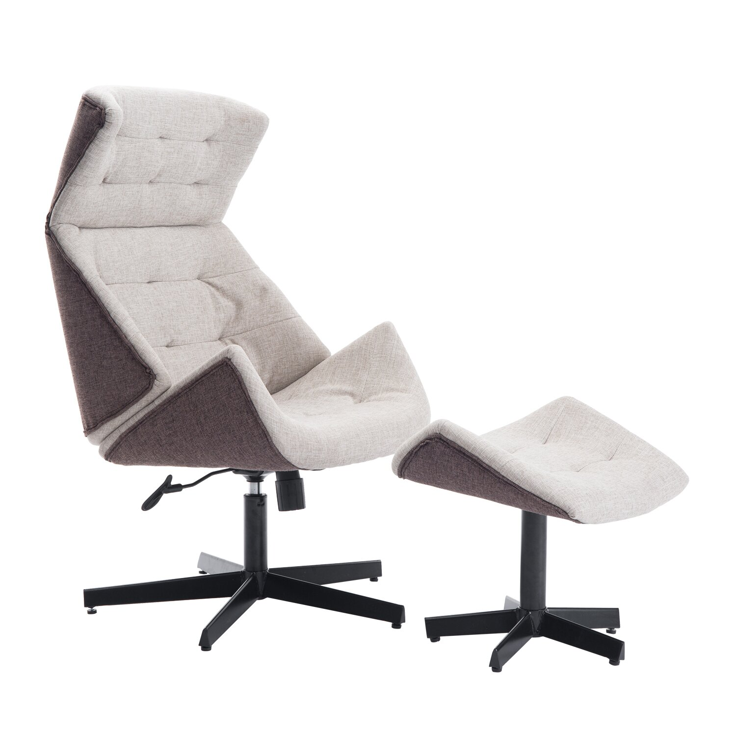 HomCom Rocking Chair and Ottoman  Wayfair.ca