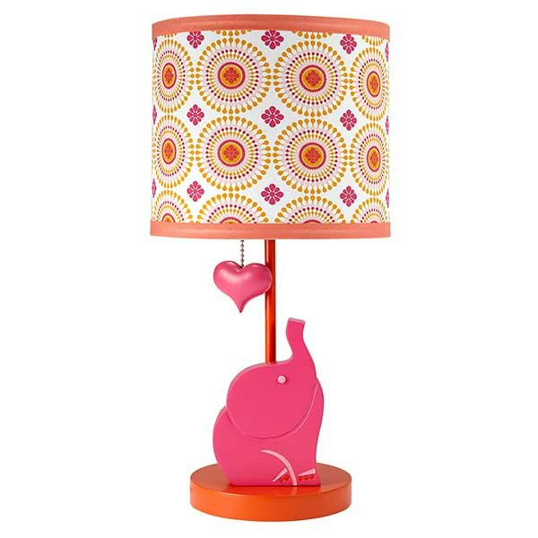 Happy chic baby by jonathan adler party elephant 14 5 table lamp reviews wayfair - Jonathan adler elephant ...