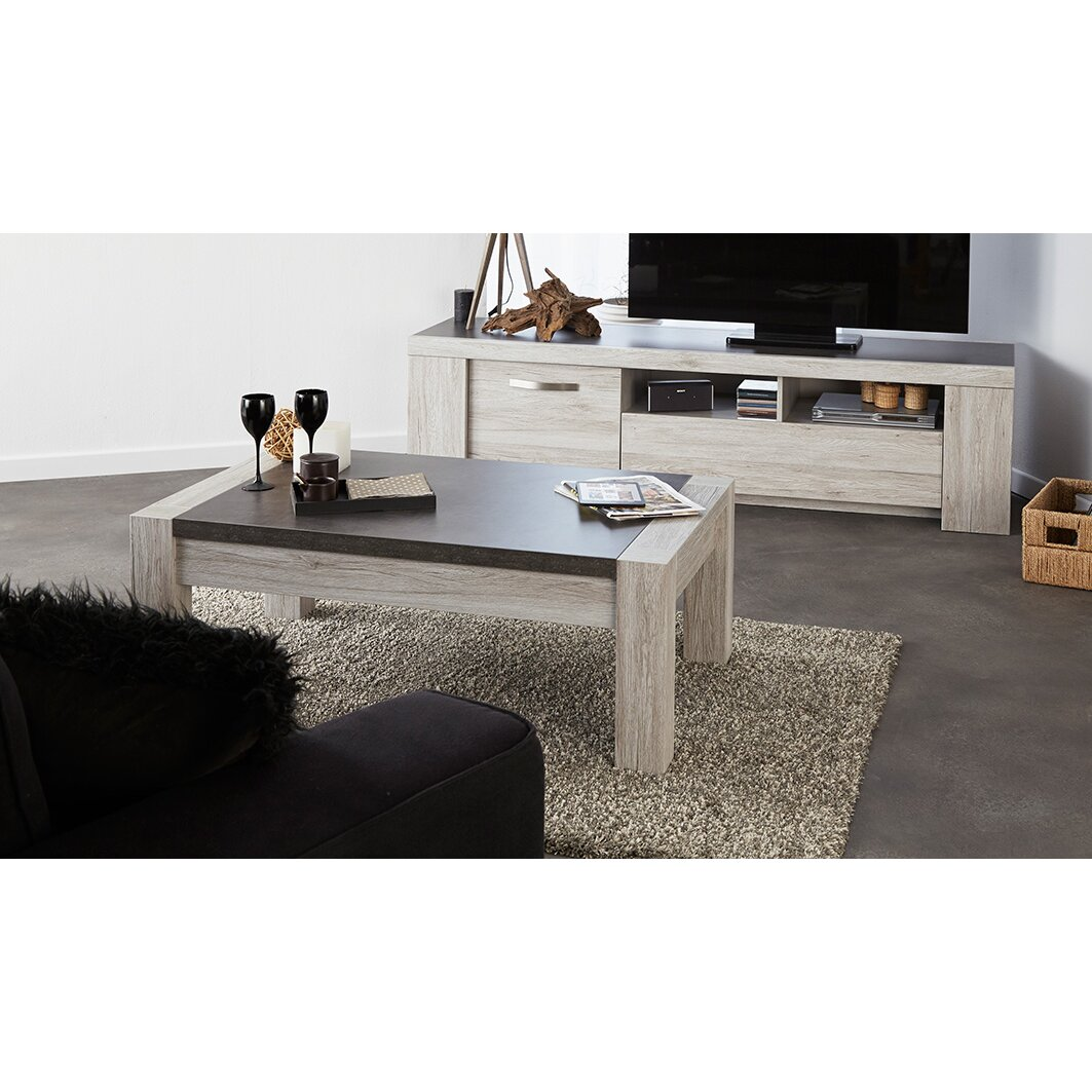 parisot malone coffee table reviews wayfair. Black Bedroom Furniture Sets. Home Design Ideas