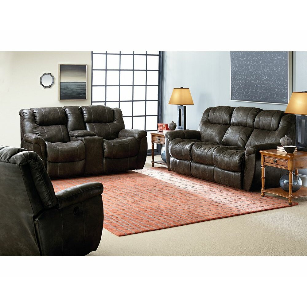 Lane Furniture Montgomery Double Reclining Loveseat Reviews Wayfair