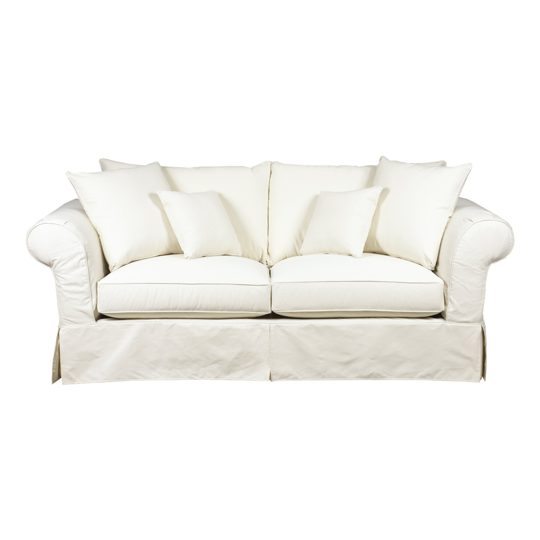 brentwood classics heather slipcover sofa. Black Bedroom Furniture Sets. Home Design Ideas
