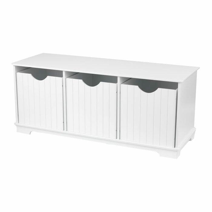 Kidkraft Nantucket Storage Bench Amp Reviews Wayfair