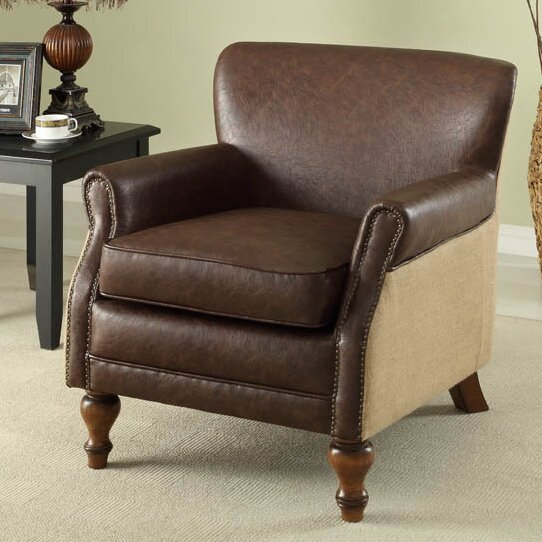 Armen Living Professor Club Chair Reviews Wayfair