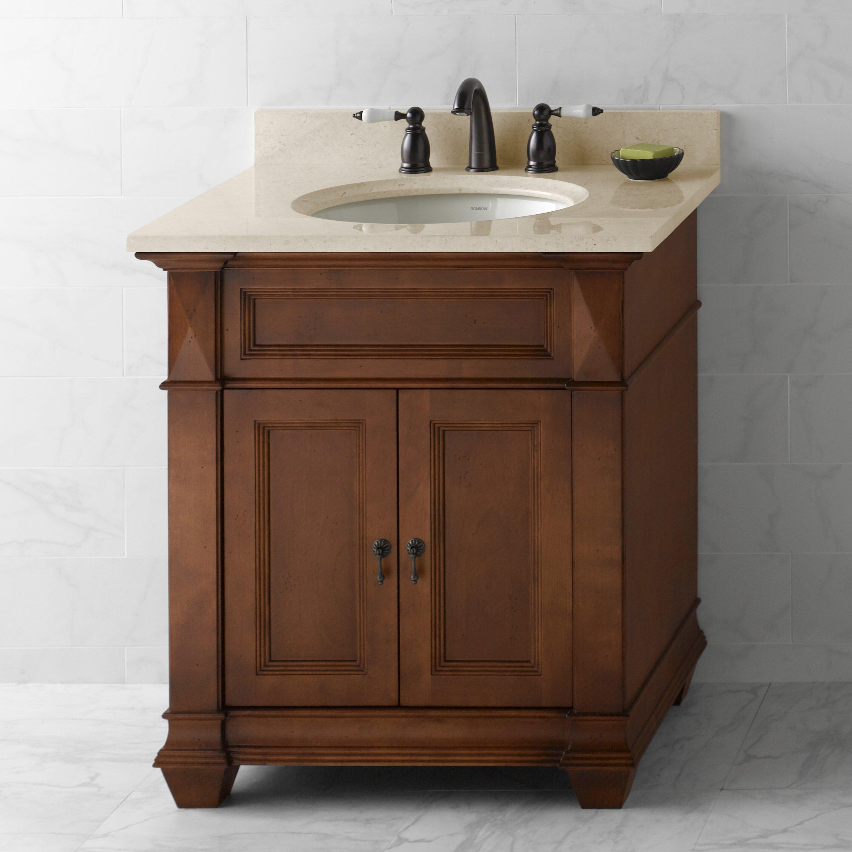 """Used Bathroom Vanity Sets For Sale: Ronbow Torino 30"""" Single Bathroom Vanity Set & Reviews"""
