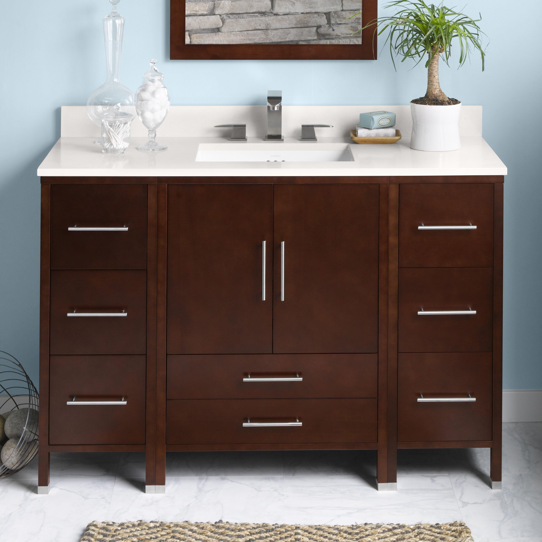 Ronbow Juno 48 Quot Single Bathroom Vanity Set Amp Reviews Wayfair