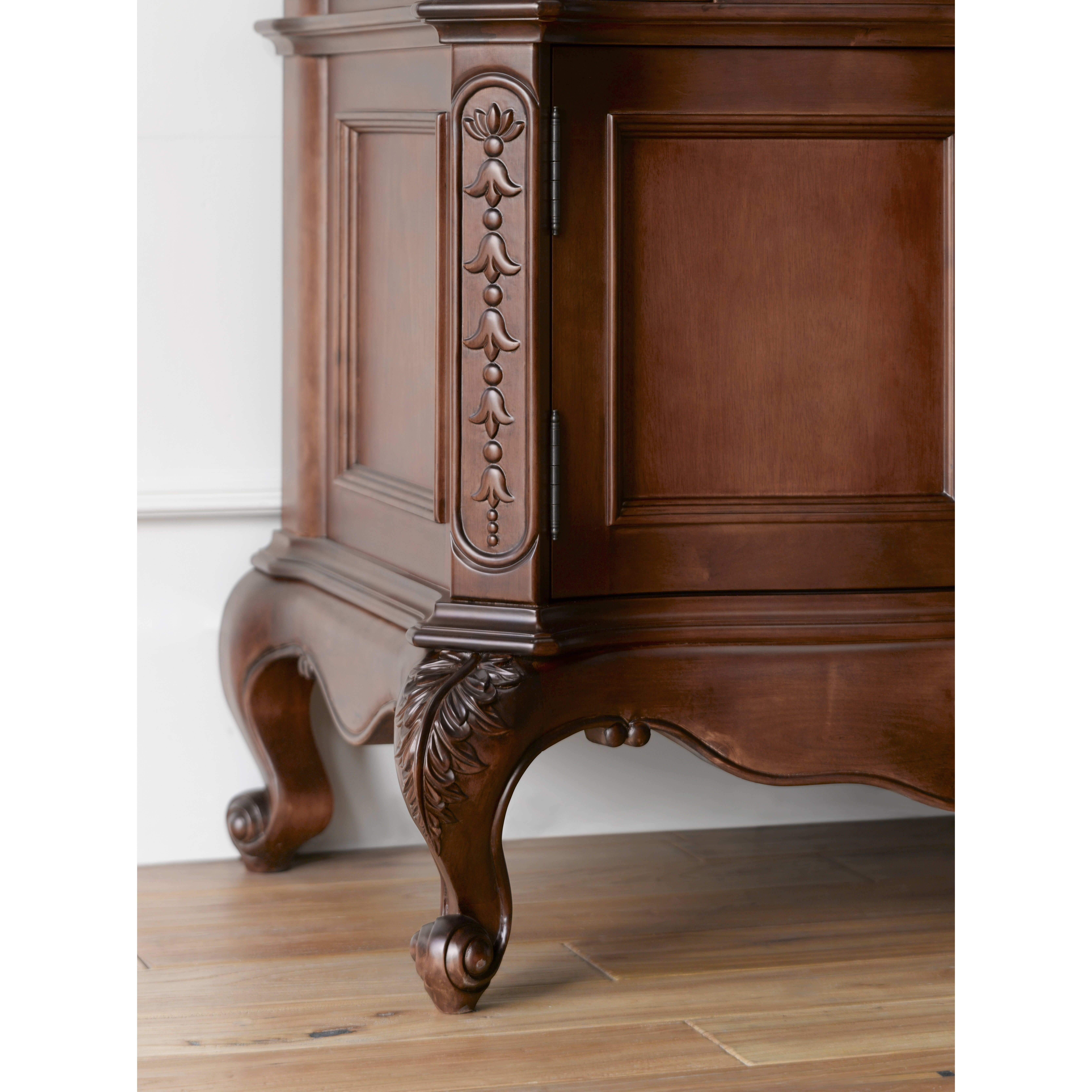 Ronbow bordeaux 36 bathroom vanity cabinet base in colonial cherry reviews wayfair - Bathroom vanity cabinet base only ...