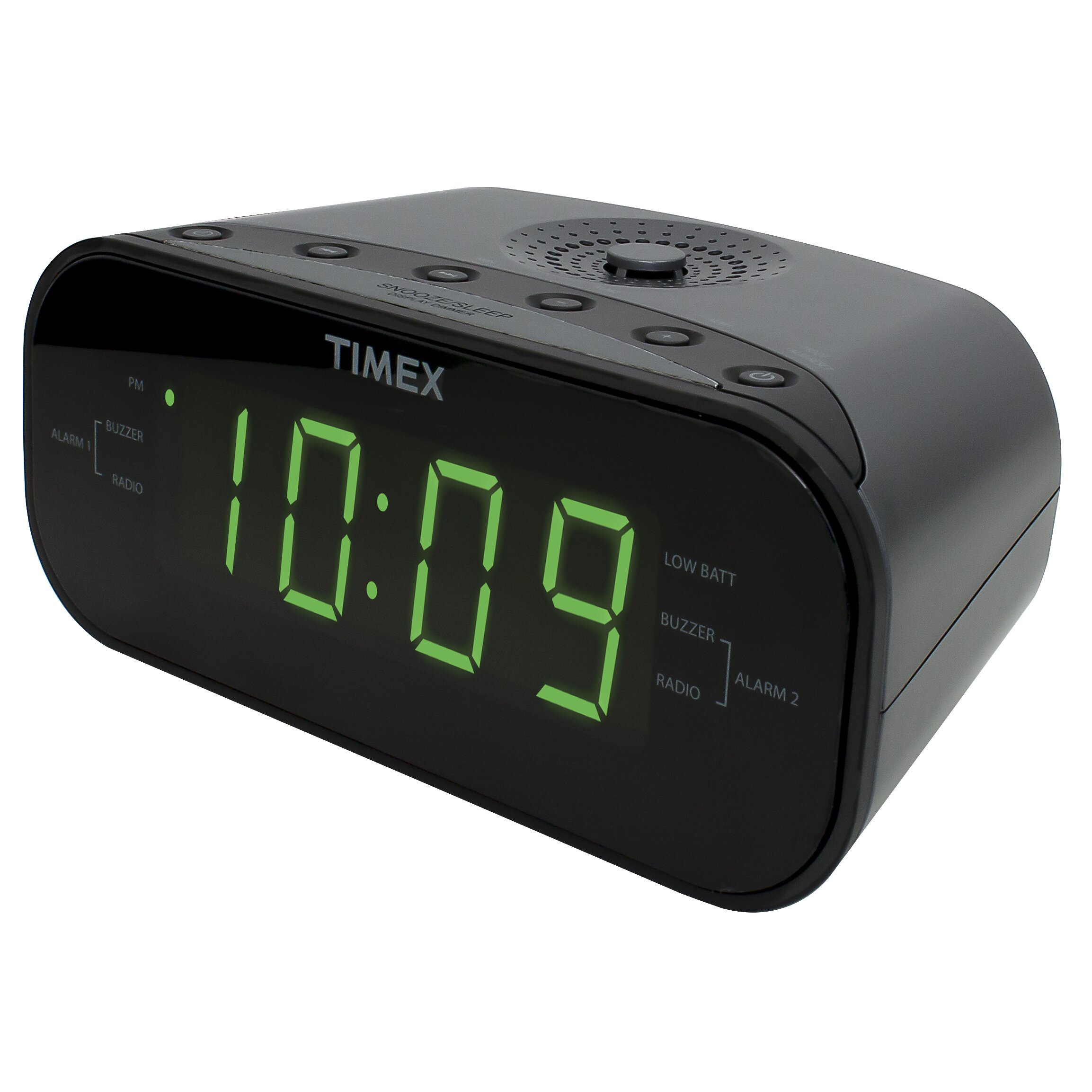 timex large display led radio dual alarm clock reviews. Black Bedroom Furniture Sets. Home Design Ideas