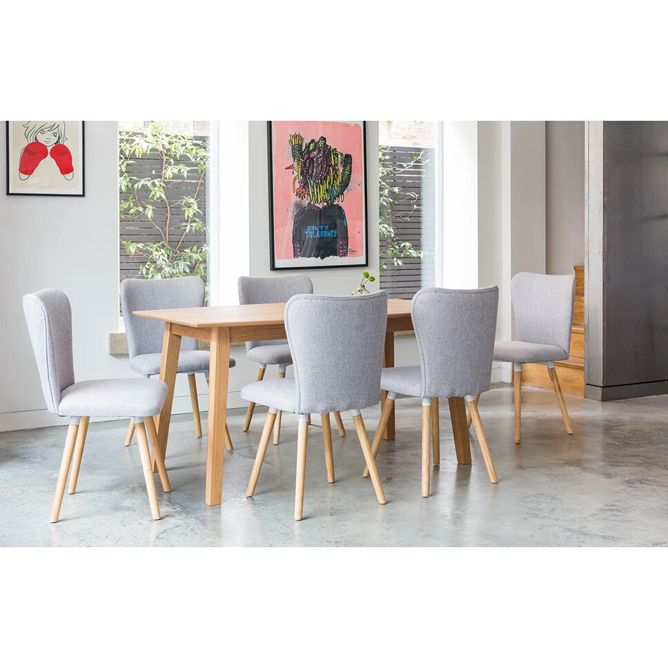 Outandoutoriginal dover dining table and 6 chairs wayfair uk for Table and 6 chairs uk