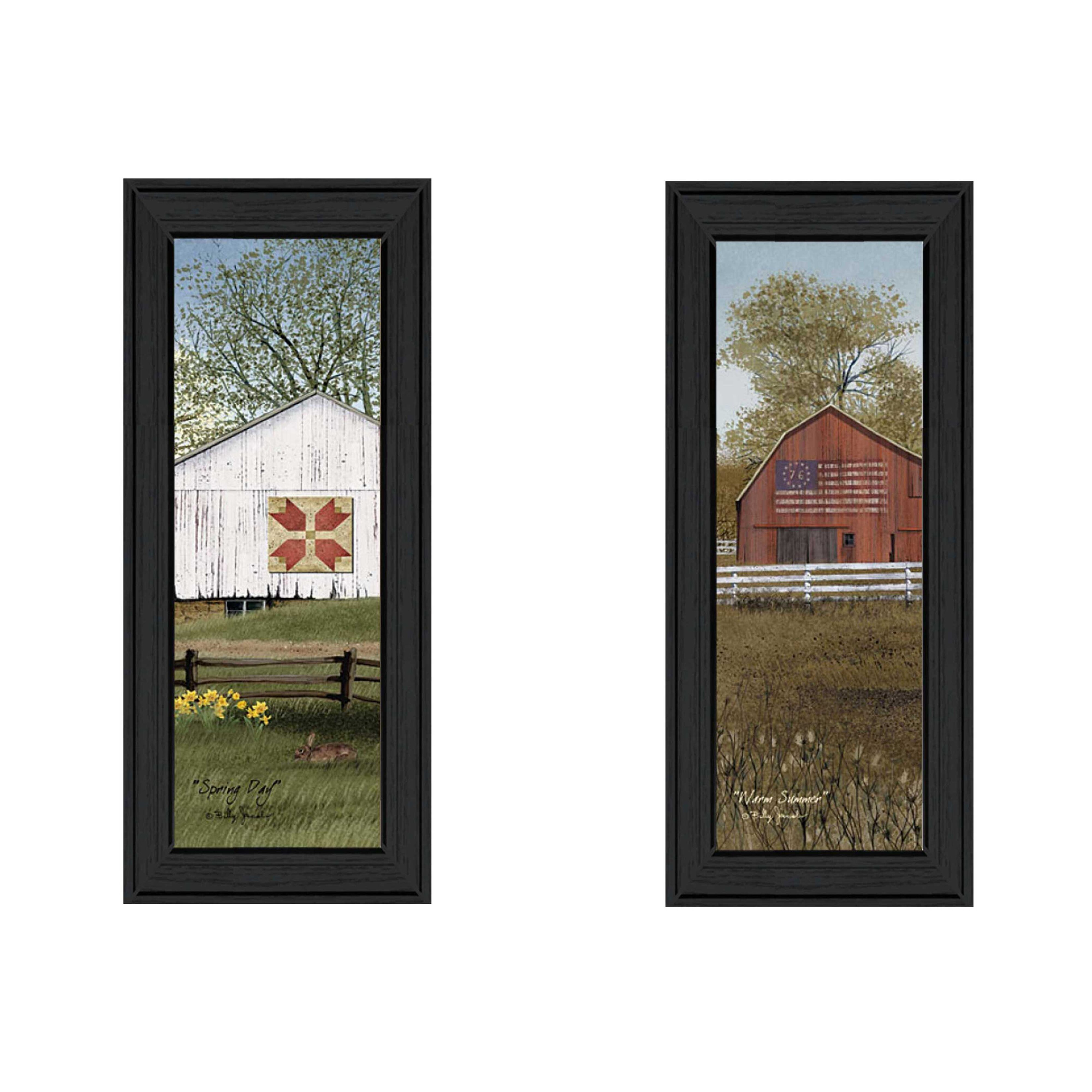 Trendy Decor 4u Country Barns By Billy Jacobs 2 Piece