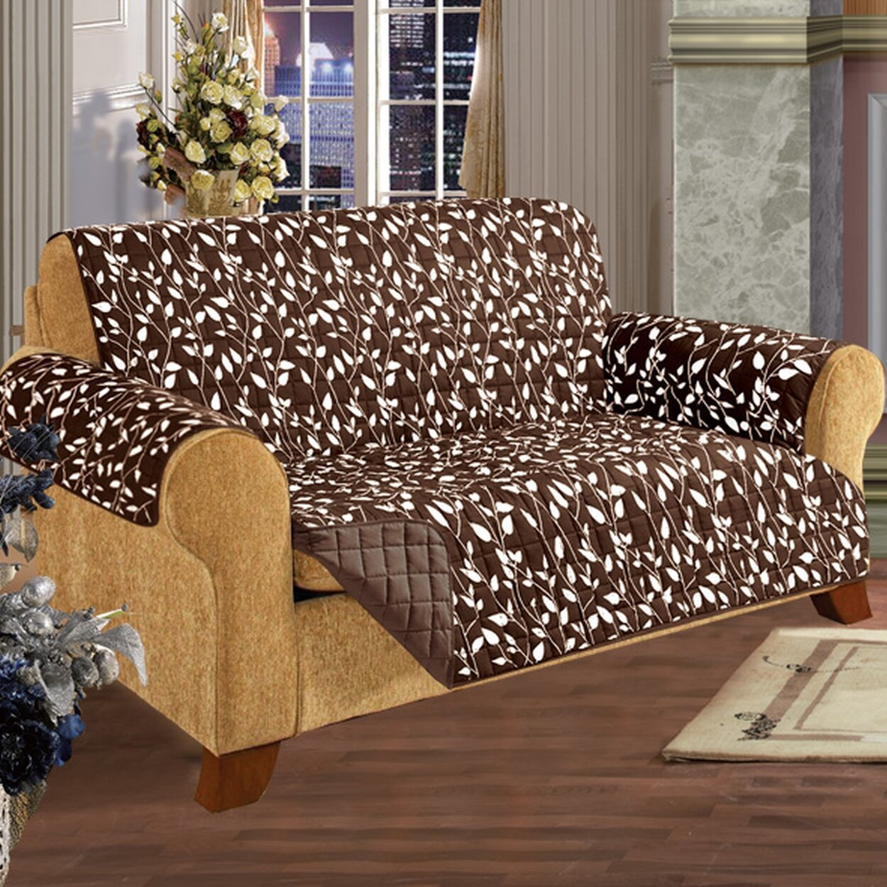 Elegant Comfort Loveseat T Cushion Slipcover Reviews