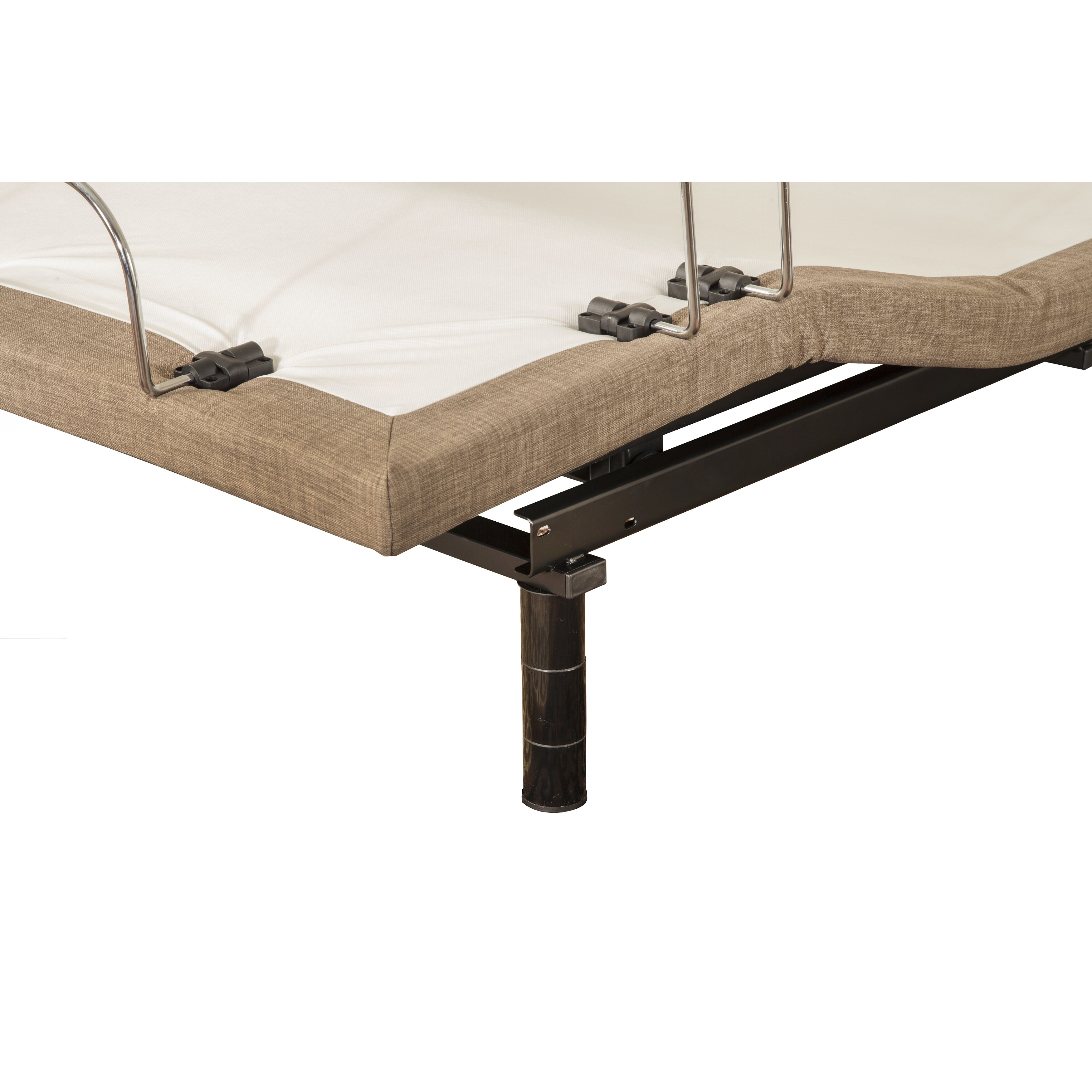 Blissfulnights dahlia 11 memory foam mattress with m 3000 for Adjustable beds