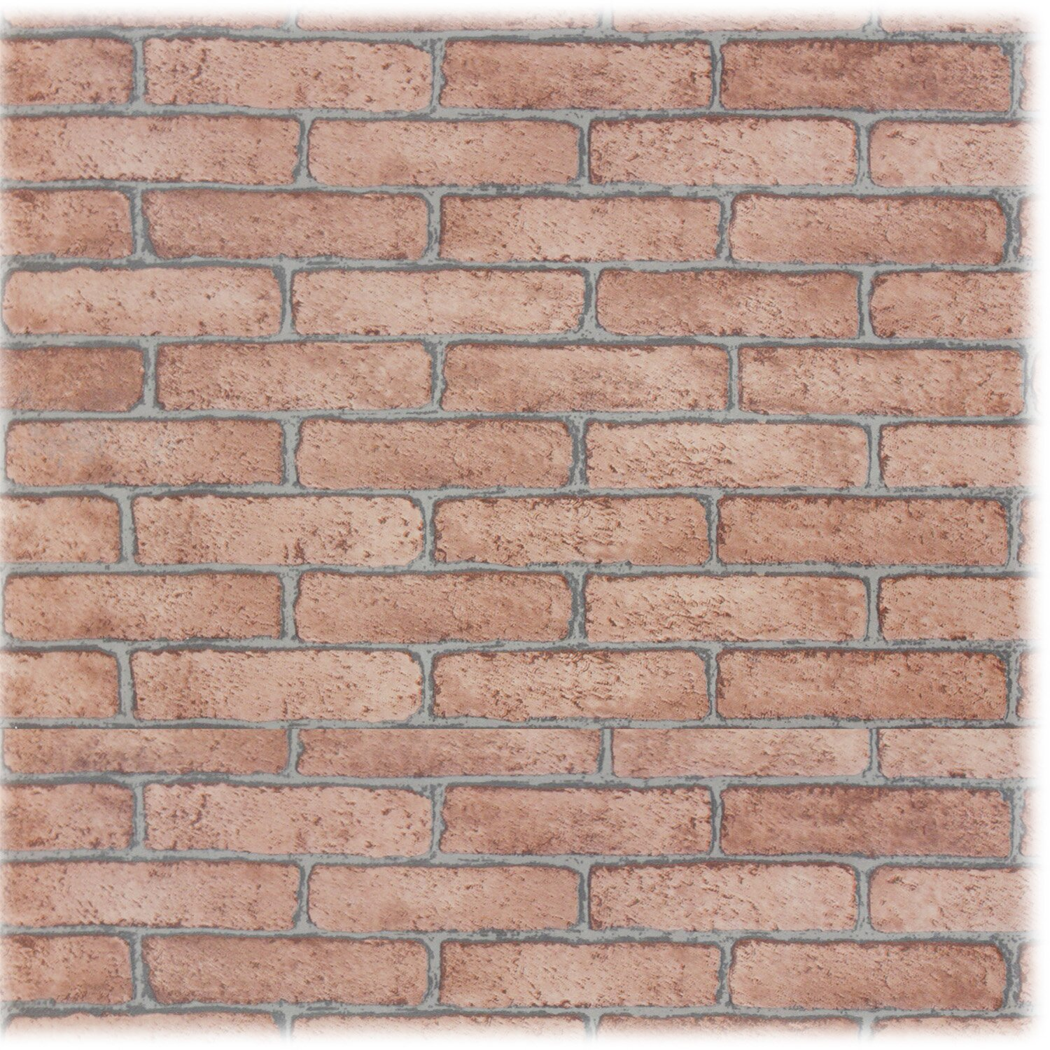 Upscale designs by ema 2 39 x 24 brick 3d embossed for Brick wallpaper sale