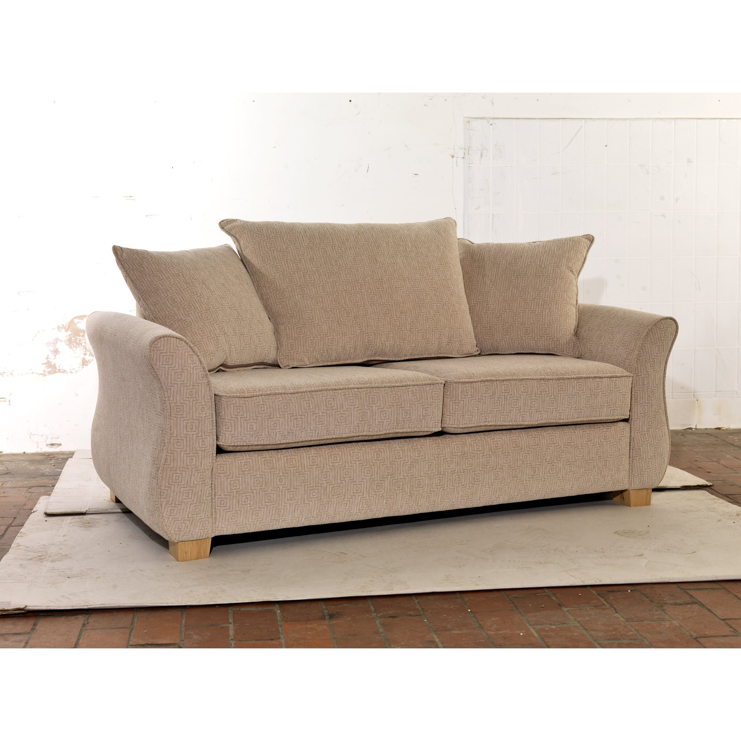 uk icon design regal 2 seater fold out sofa wayfair uk. Black Bedroom Furniture Sets. Home Design Ideas