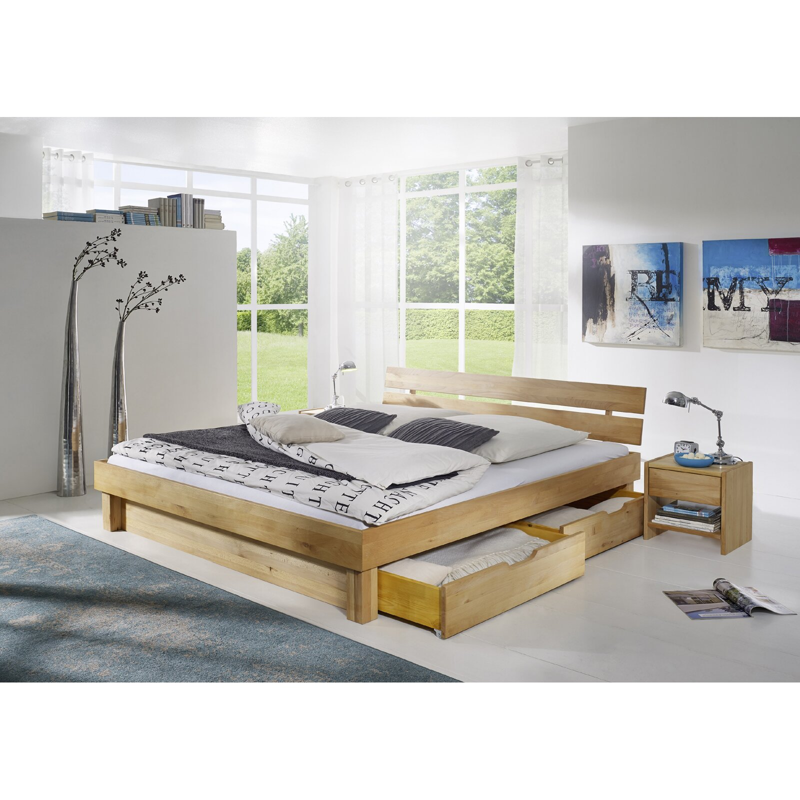 sam stil art m bel gmbh massivholzbett canyon mit stauraum. Black Bedroom Furniture Sets. Home Design Ideas