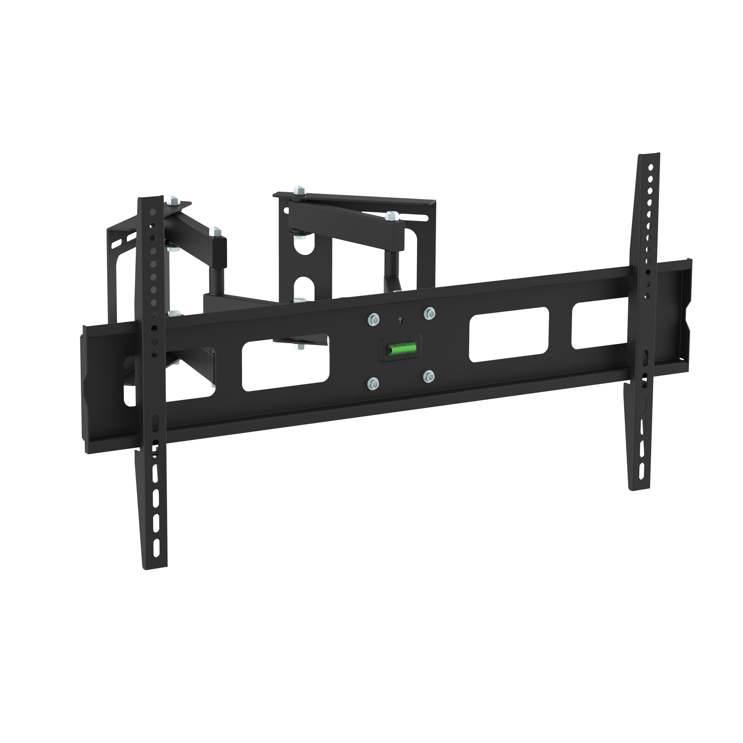 Gforce full motion corner tv wall mount for 37 63 flat for Tv wall mount reviews