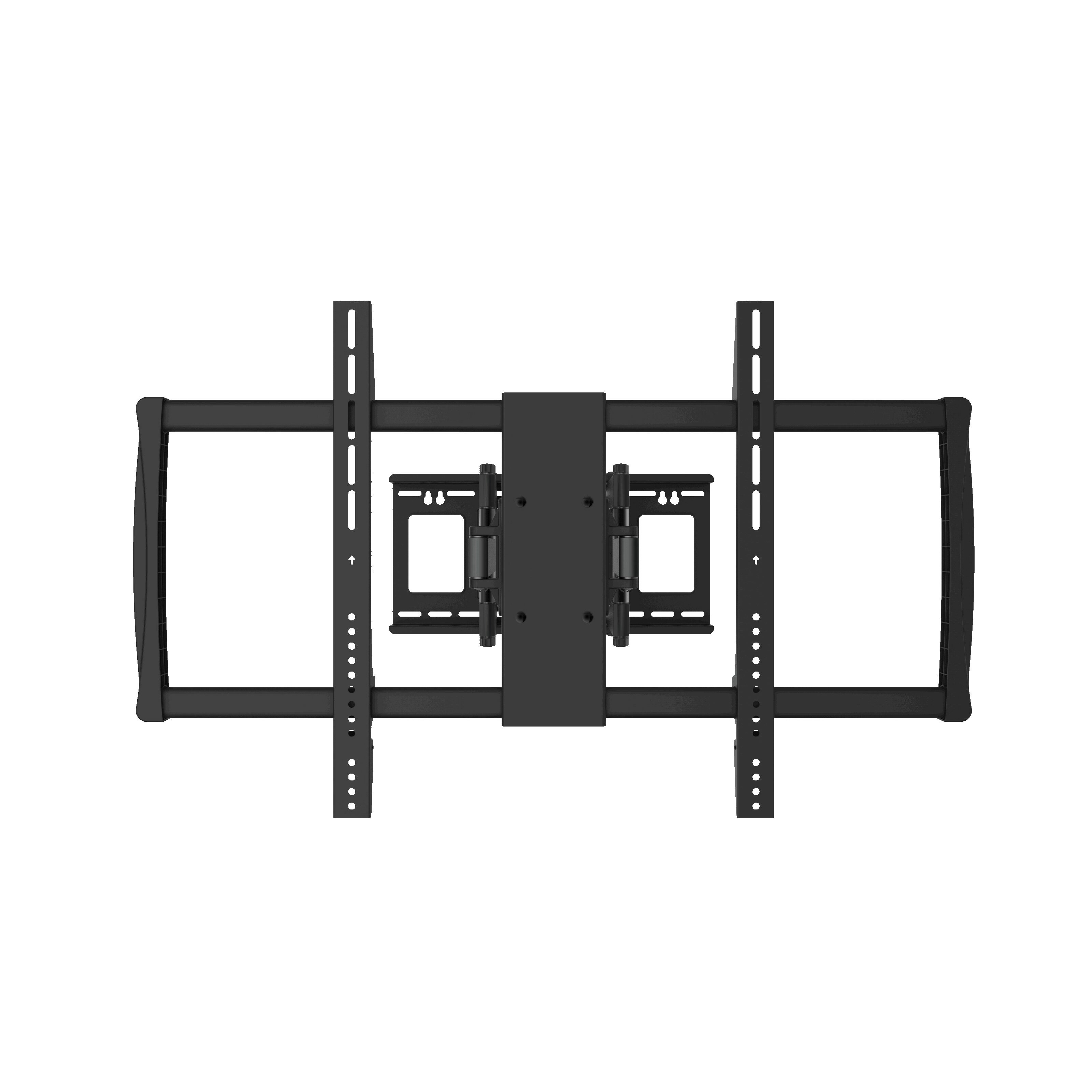 gforce full motion tv wall mount for 60 100 flat panel screens reviews wayfair. Black Bedroom Furniture Sets. Home Design Ideas