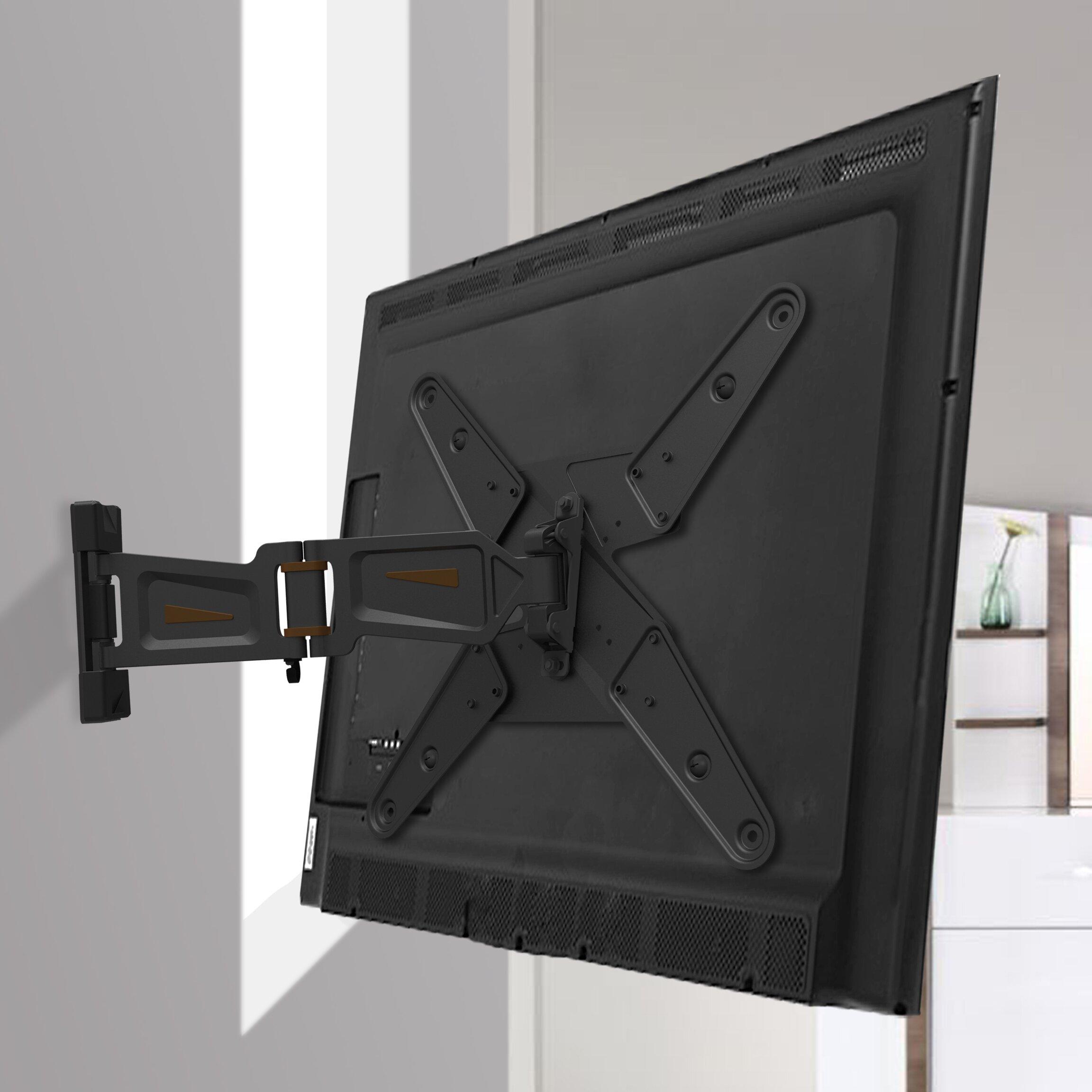 Gforce Full Motion Tv Wall Mount For 23 55 Flat Panel