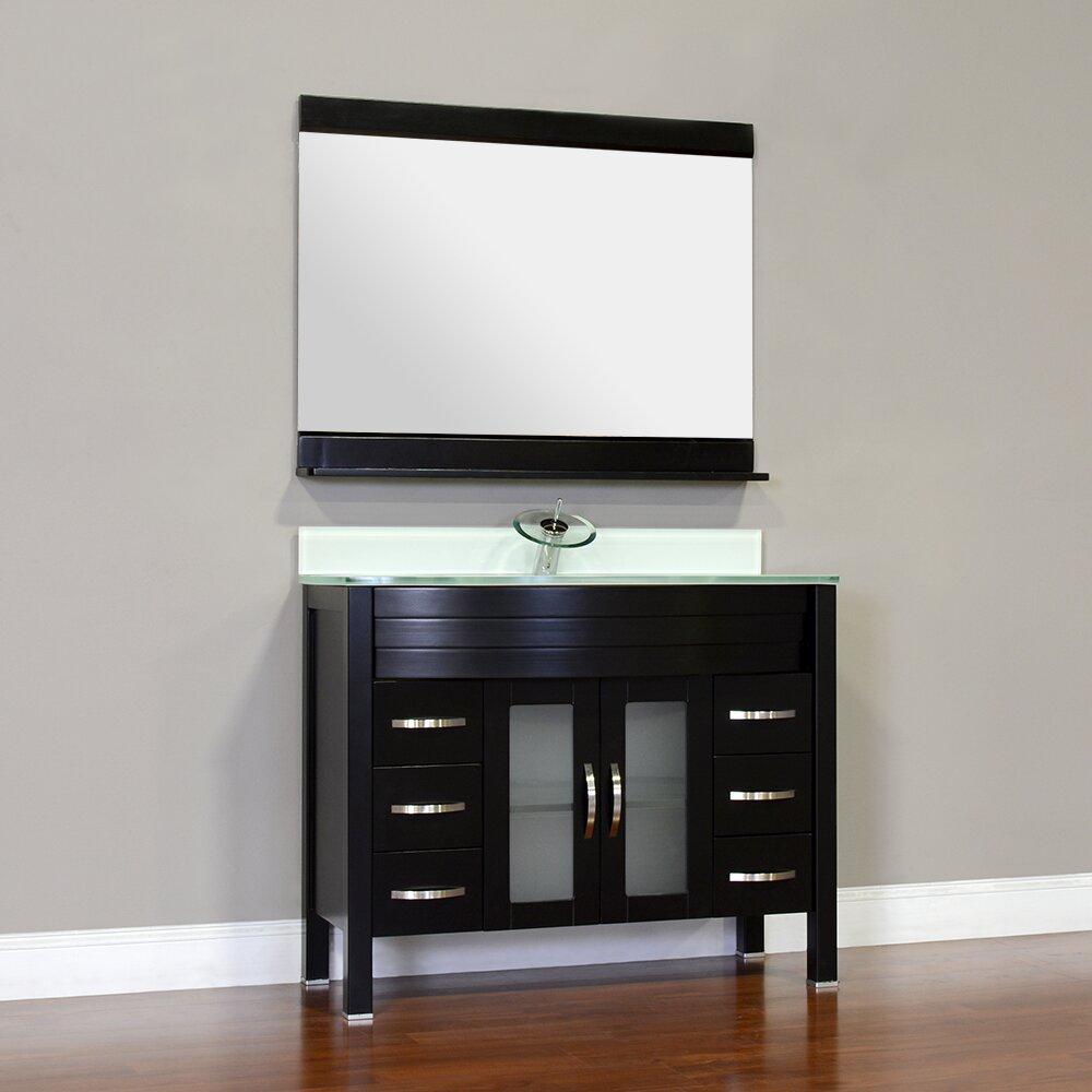 Alya bath elite 42 single bathroom vanity set reviews wayfair - Linden modern bathroom vanity set ...