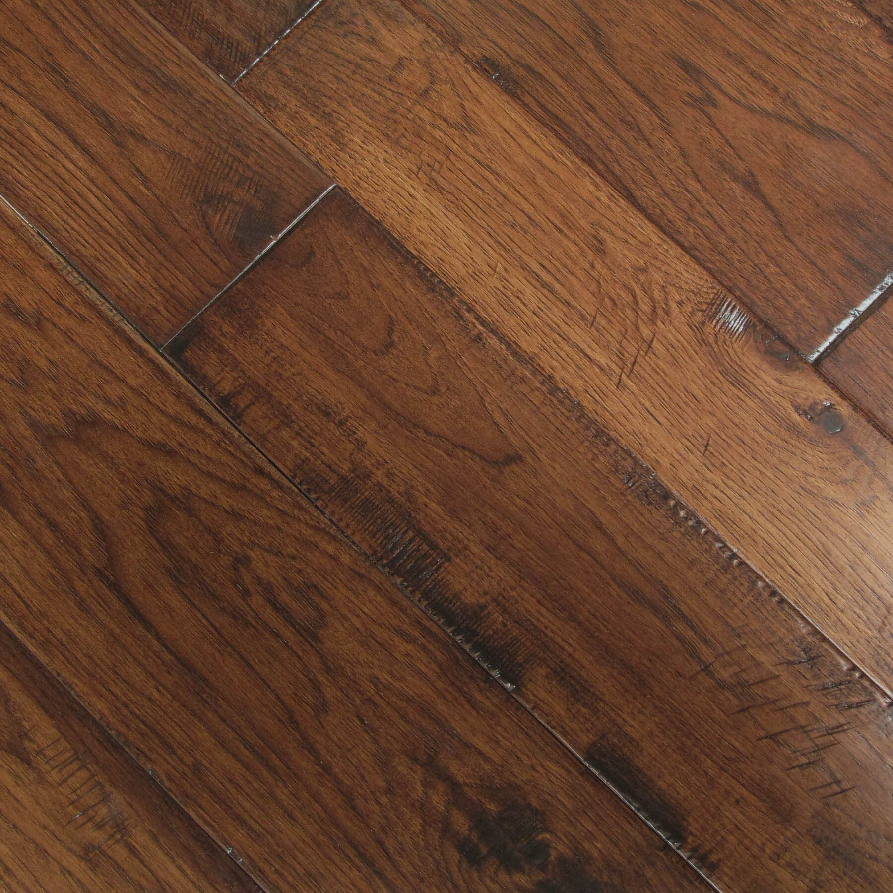 Albero valley hudson bay random width engineered hickory for Hickory hardwood flooring