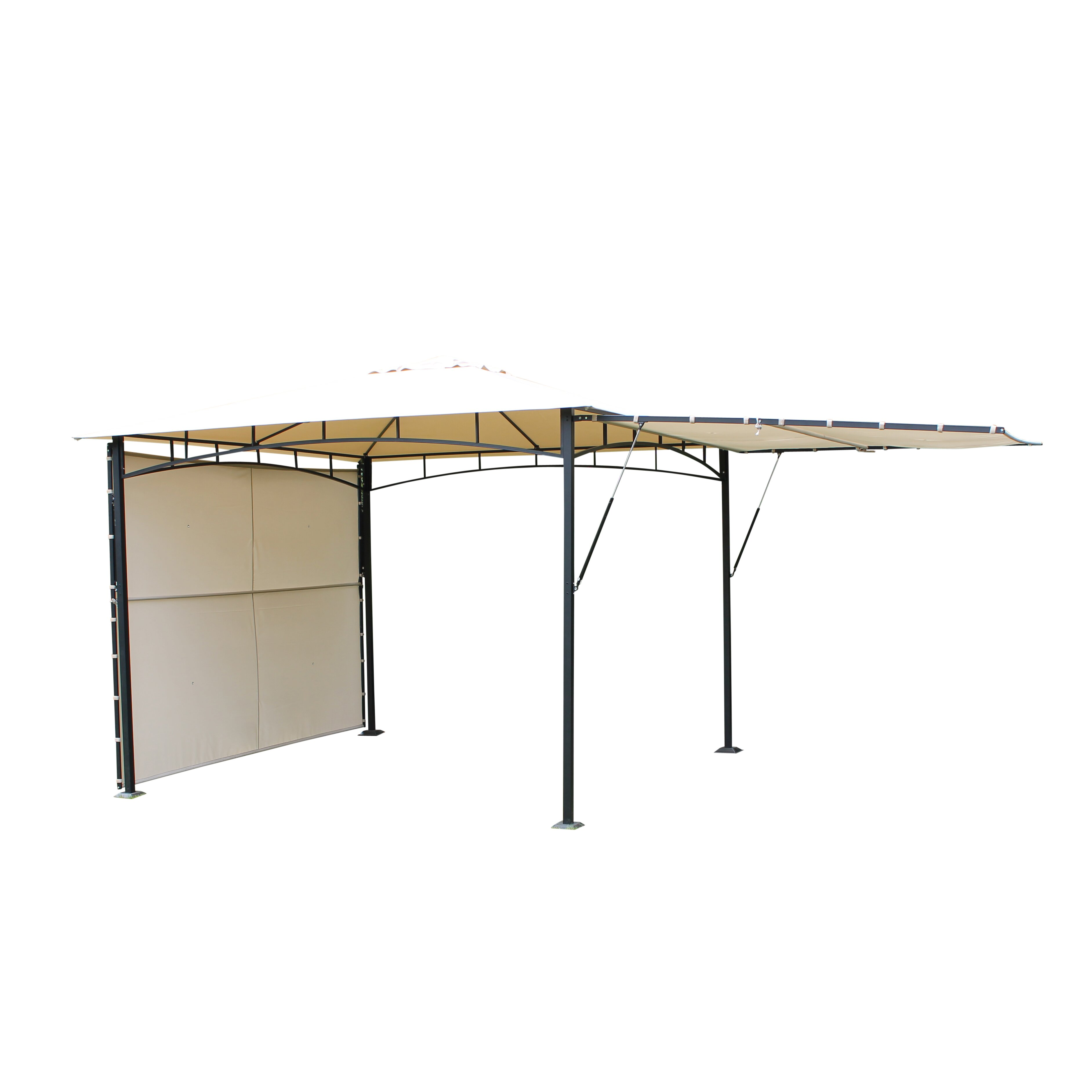 leco 3 m x 3 m pavillon vario aus aluminium bewertungen. Black Bedroom Furniture Sets. Home Design Ideas