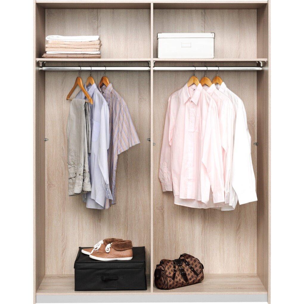 cs schmal schwebet renschrank soft smart typ 43 193 cm h x 150 cm b x 61 cm t bewertungen. Black Bedroom Furniture Sets. Home Design Ideas