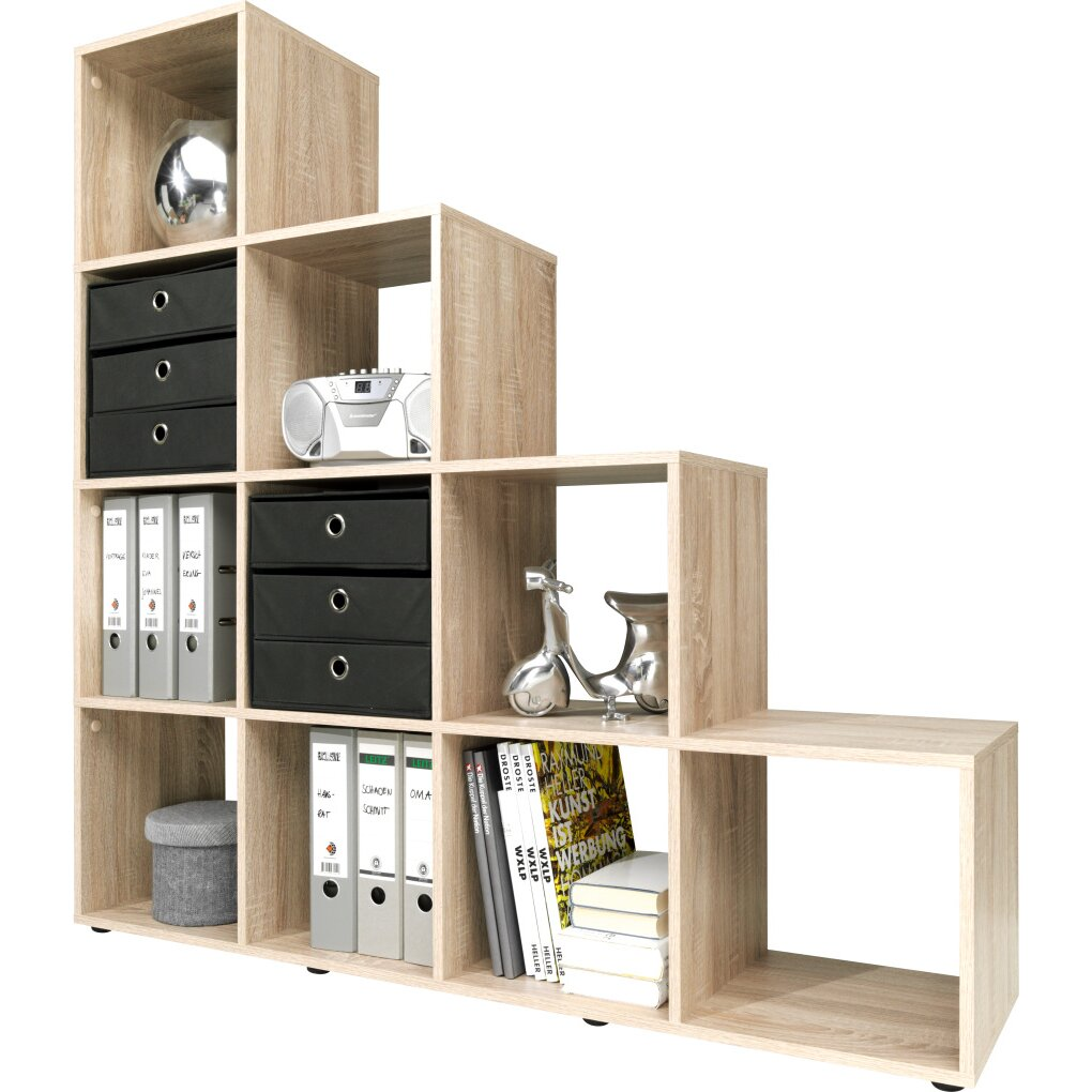cs schmal 141 cm b cherregal sunset bewertungen. Black Bedroom Furniture Sets. Home Design Ideas