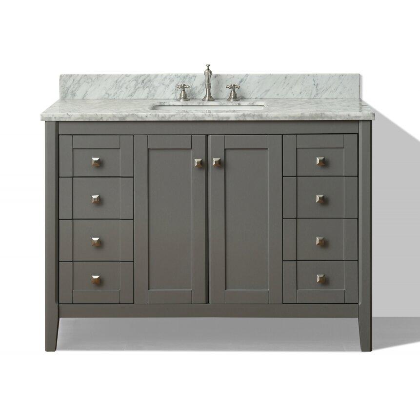 Ancerre Designs Shelton 48 Quot Single Bath Vanity Set Wayfair