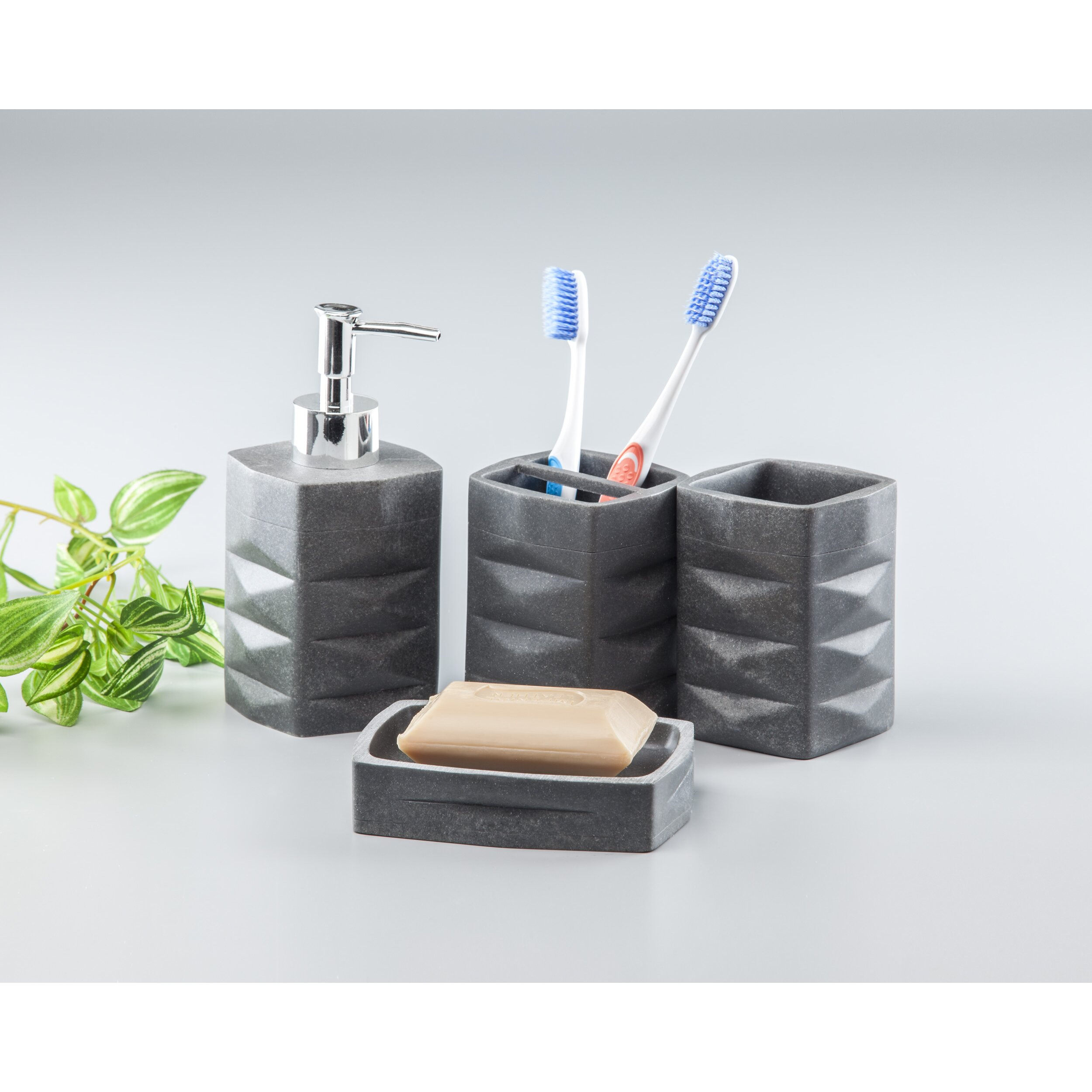 Innova Imports 4 Piece Bathroom Set Reviews Wayfair