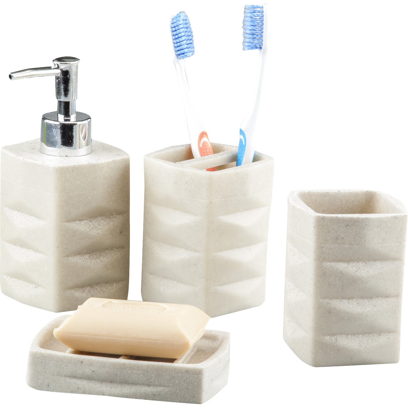 innova imports 4 piece bathroom accessory set reviews