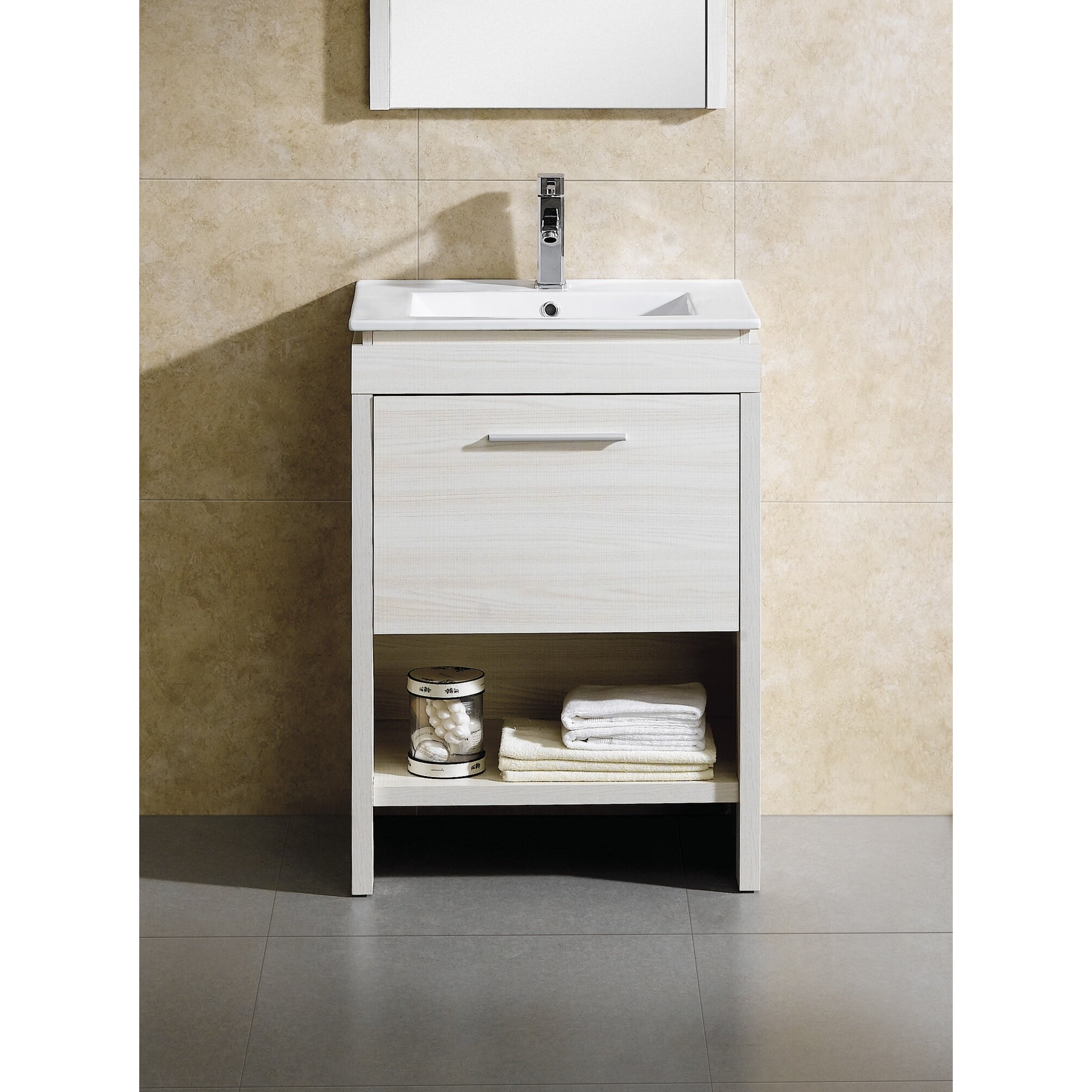 singles in modena Update an ordinary bathroom with the contemporary fine fixtures modena 24 in single bathroom vanity this freestanding, no-frills design features.